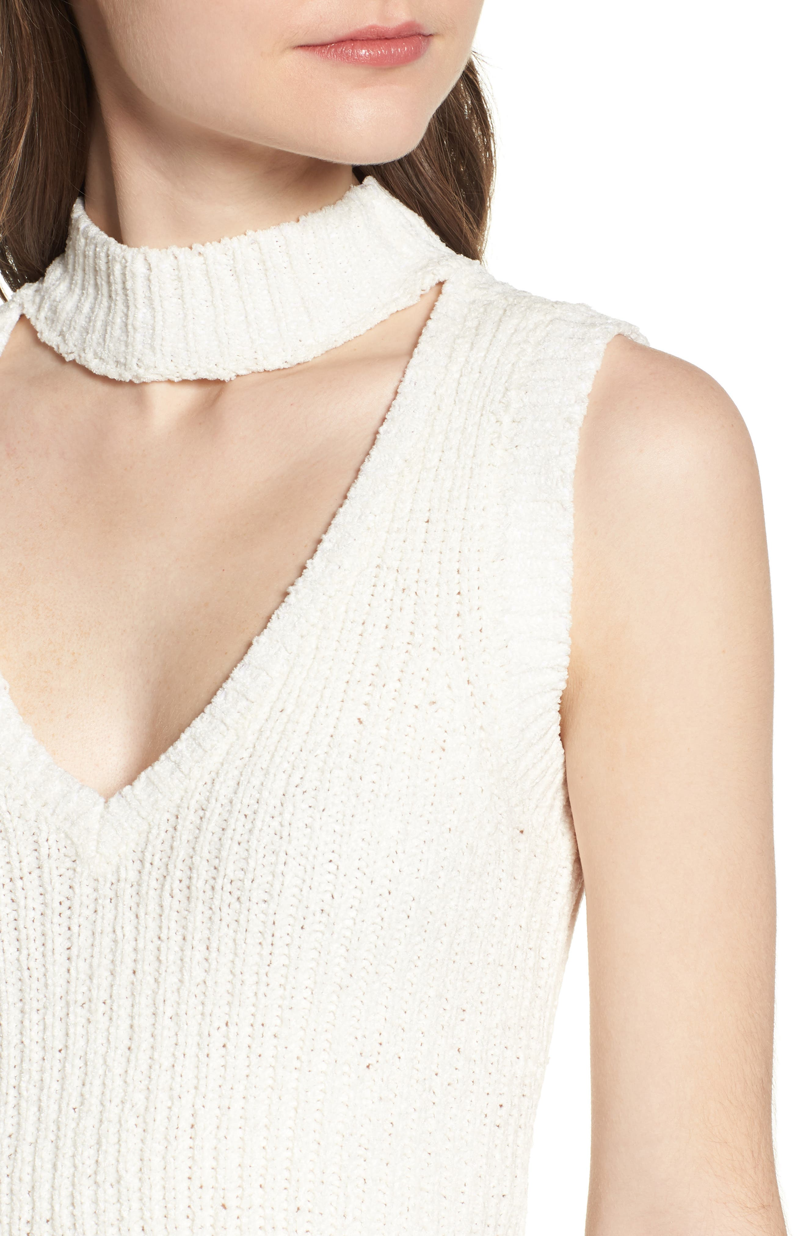 Camdon Sleeveless Sweater,                             Alternate thumbnail 4, color,                             900