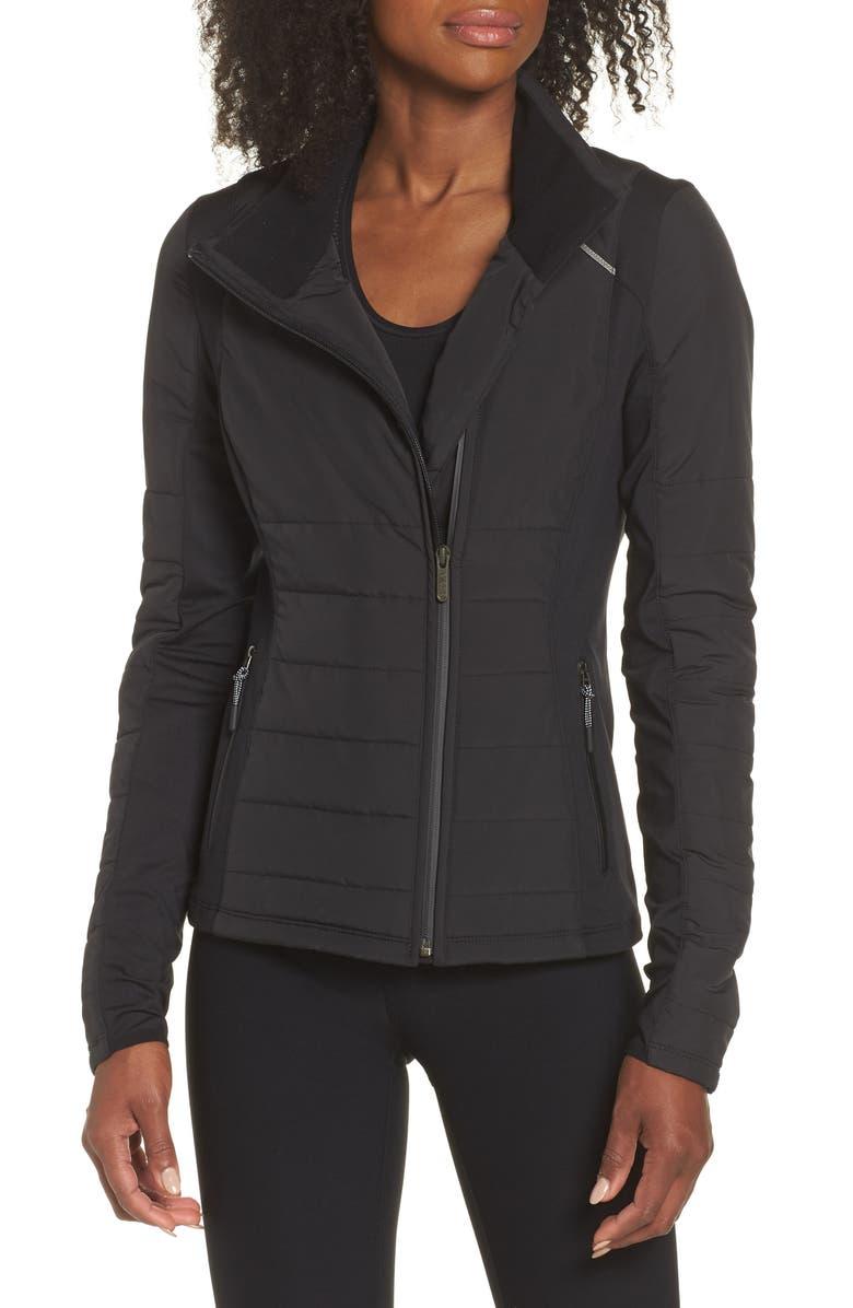 0ff2e3befdf Zella Coco Hybrid Reflective Jacket