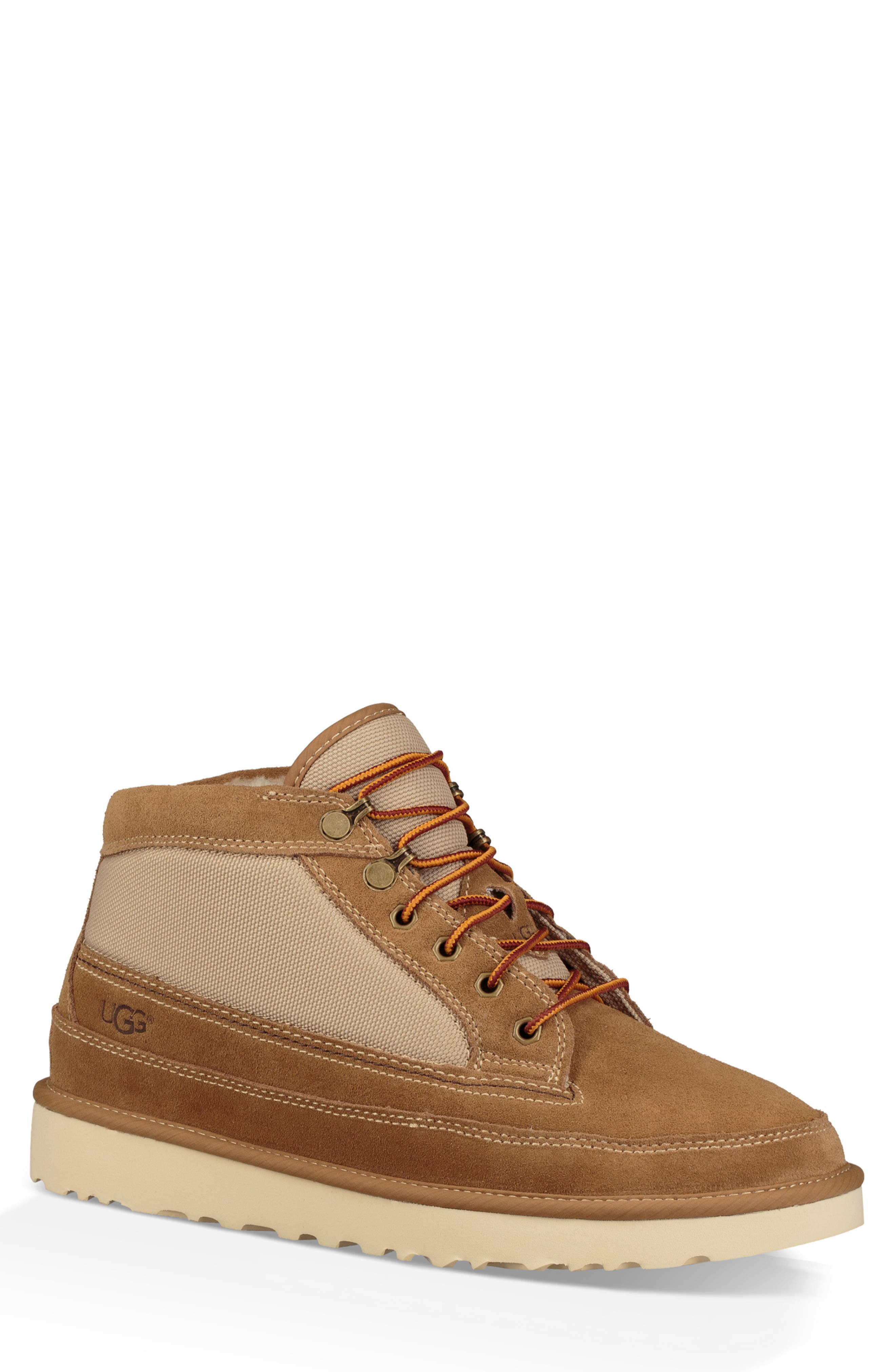 Highland Field Boot,                             Main thumbnail 1, color,                             CHESTNUT