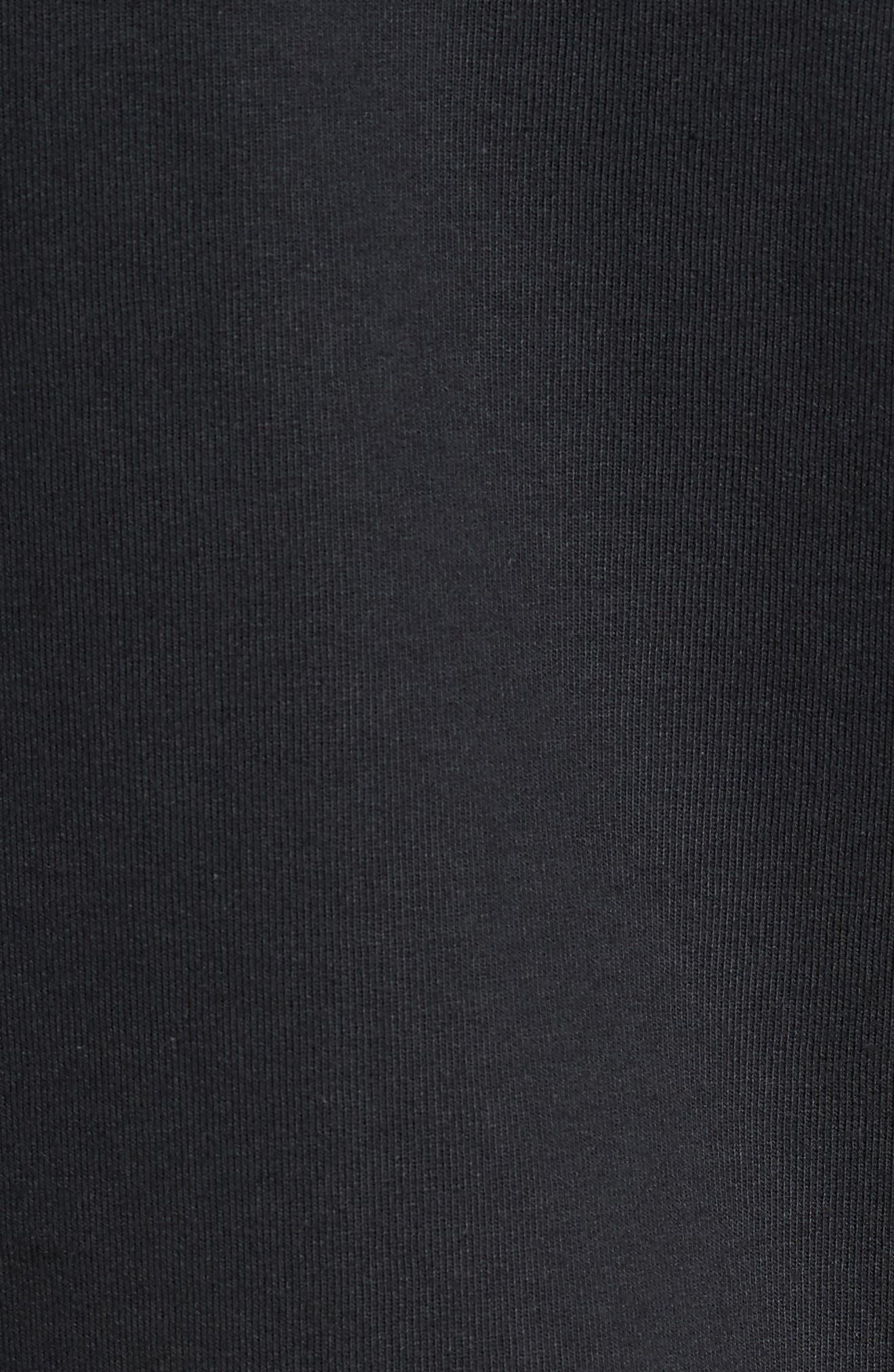 B-Side Reversible Crewneck Sweatshirt,                             Alternate thumbnail 5, color,                             001