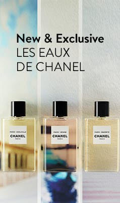 New and exclusively ours: LES EAUX DE CHANEL.