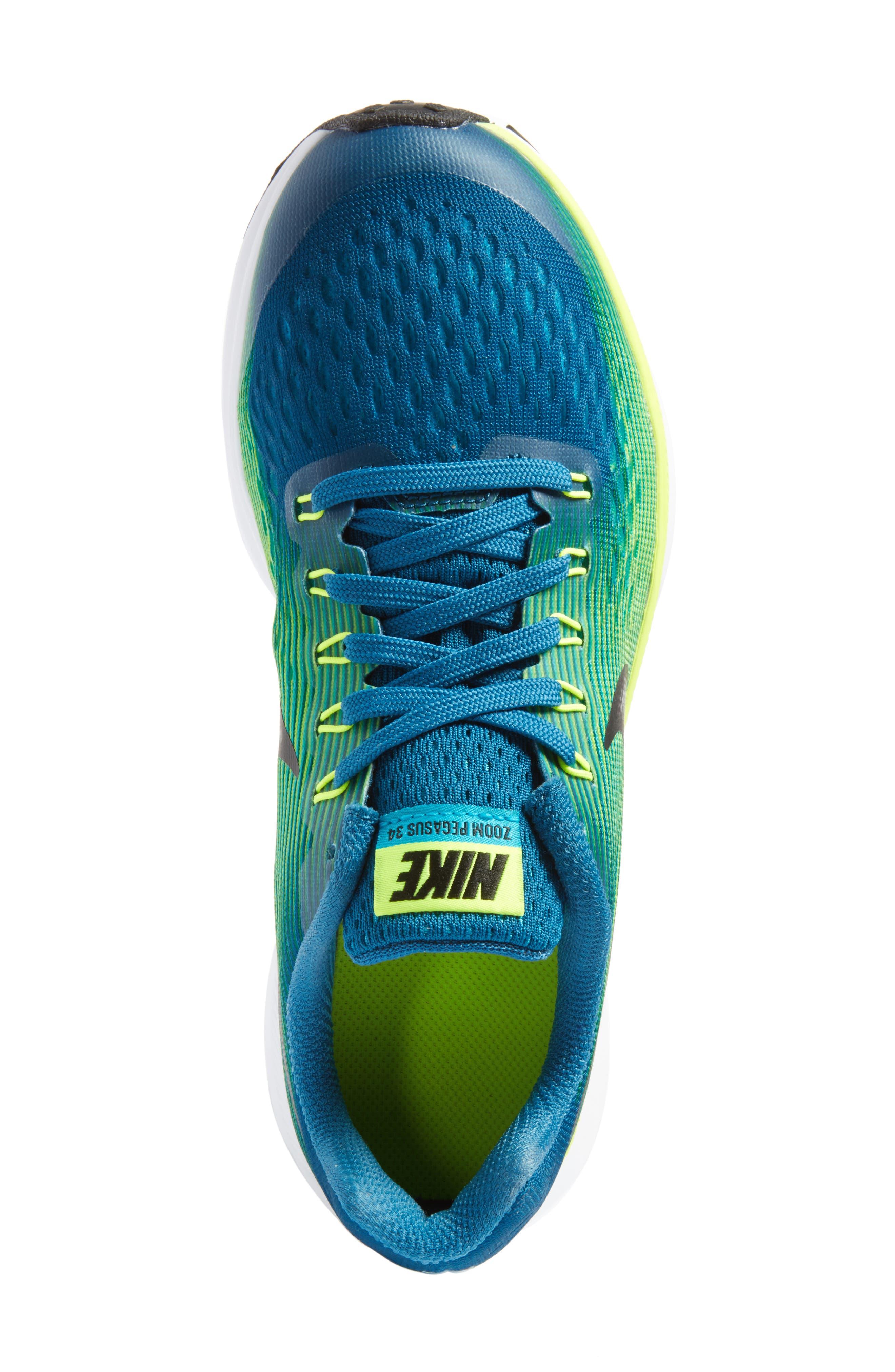 Zoom Pegasus 34 Sneaker,                             Alternate thumbnail 37, color,