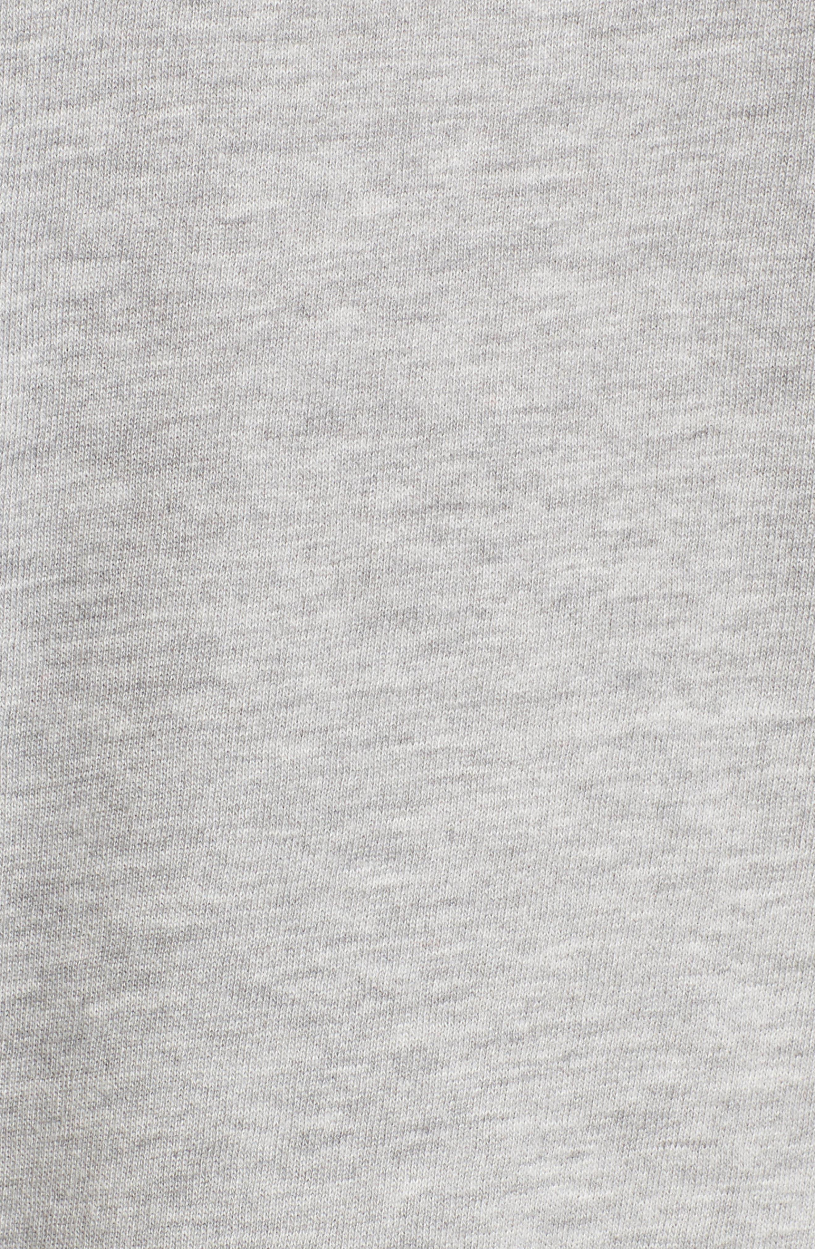 Lace-Up Side Sweatshirt,                             Alternate thumbnail 5, color,                             030