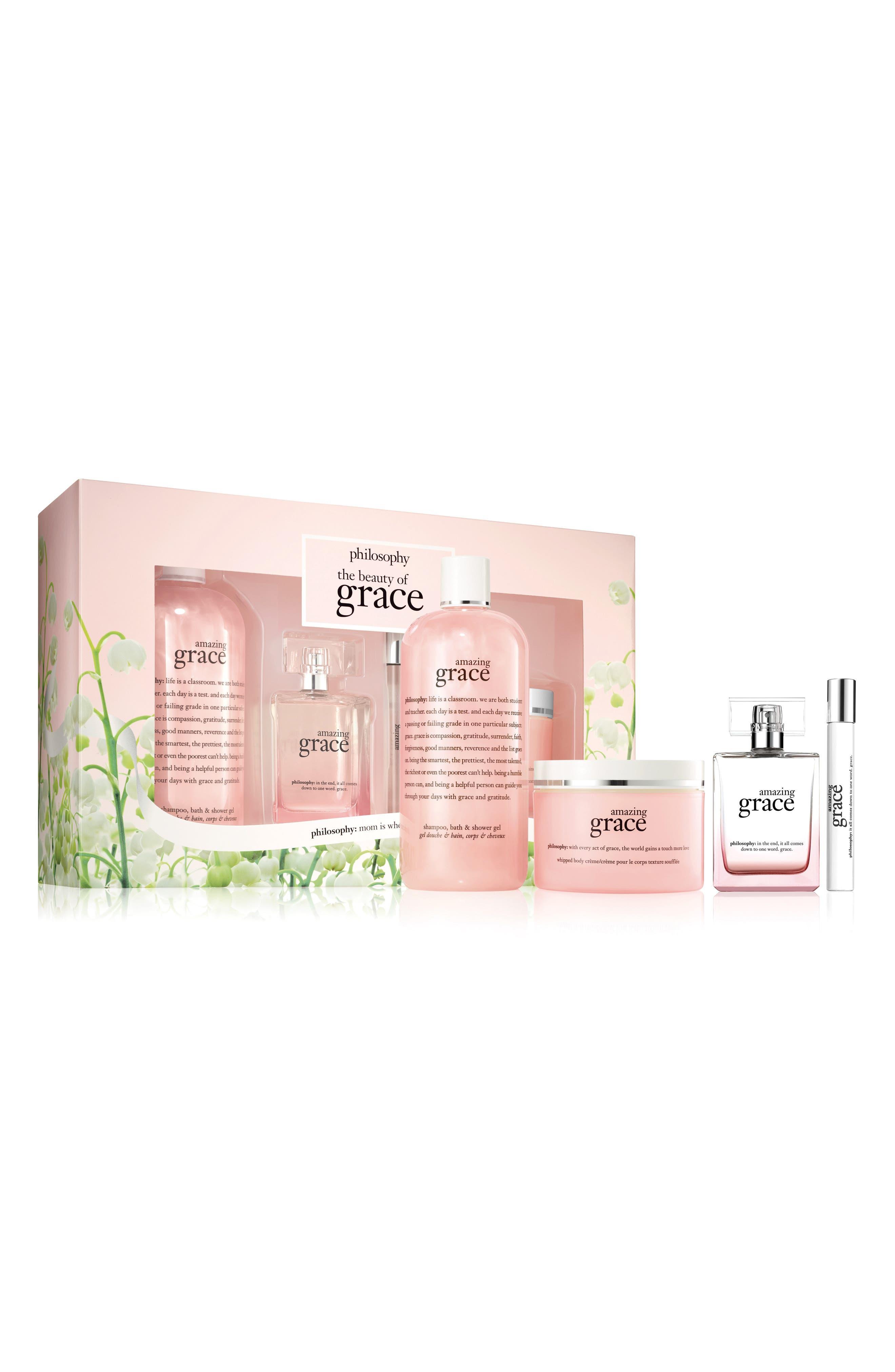 amazing grace eau de parfum set,                         Main,                         color, 000