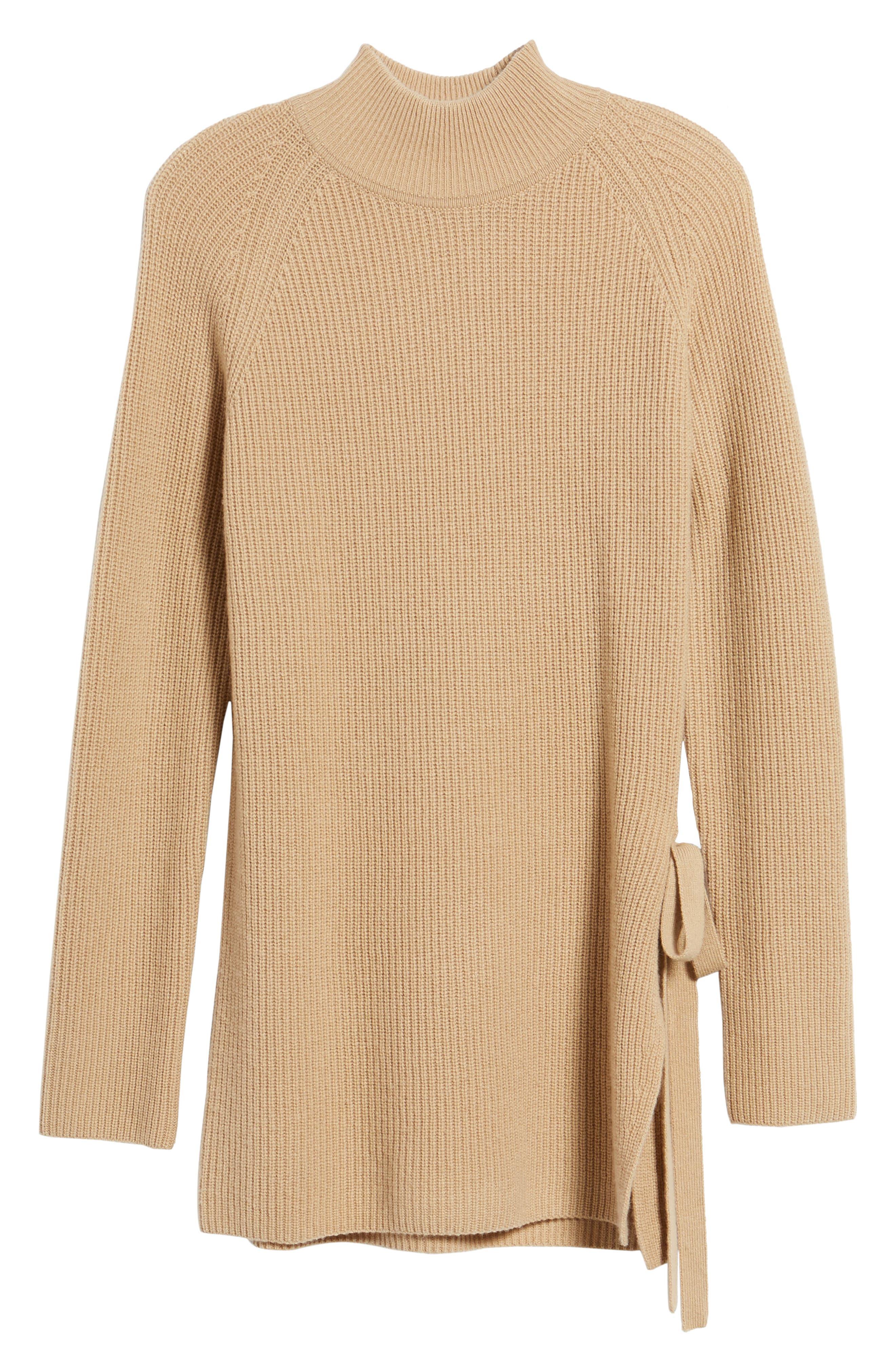 Filda Tie Side Sweater,                             Alternate thumbnail 6, color,
