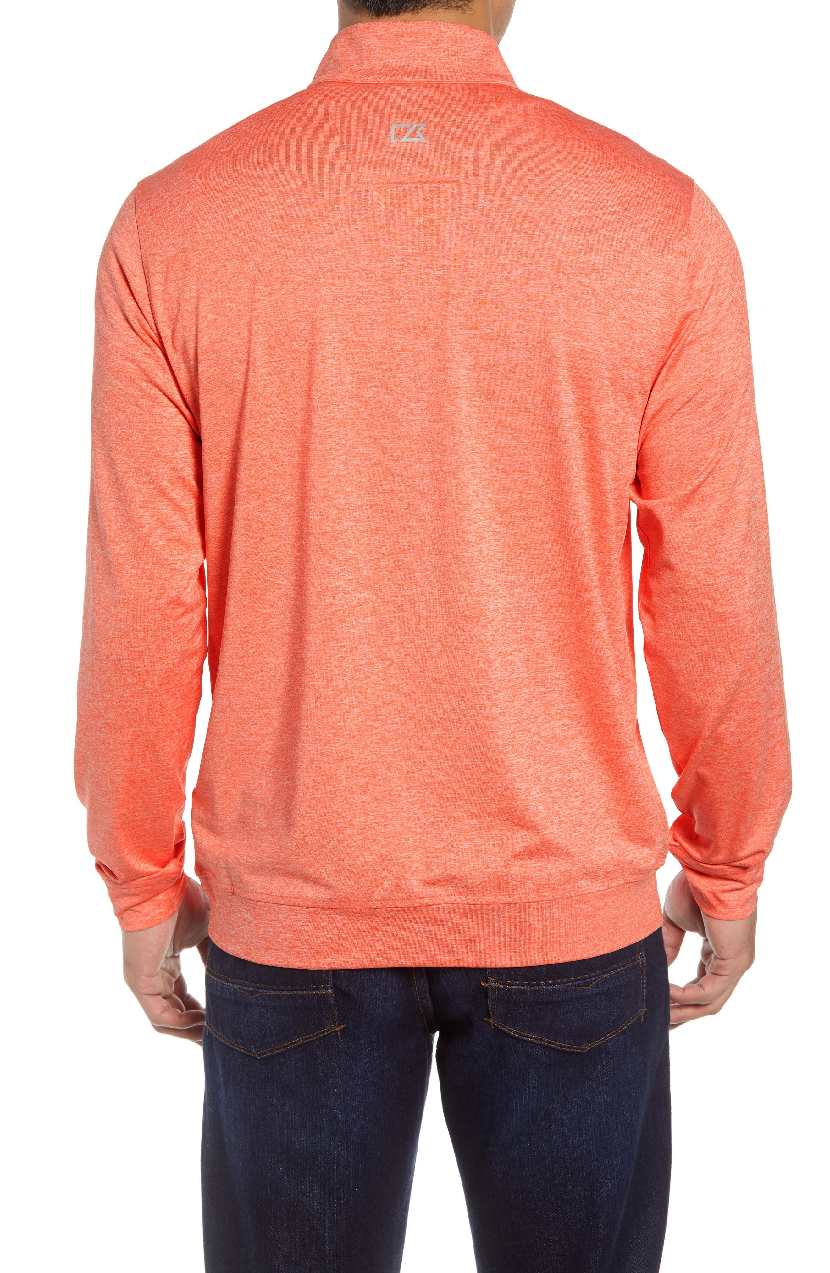 Stealth Half Zip Pullover,                             Alternate thumbnail 2, color,                             ALARM