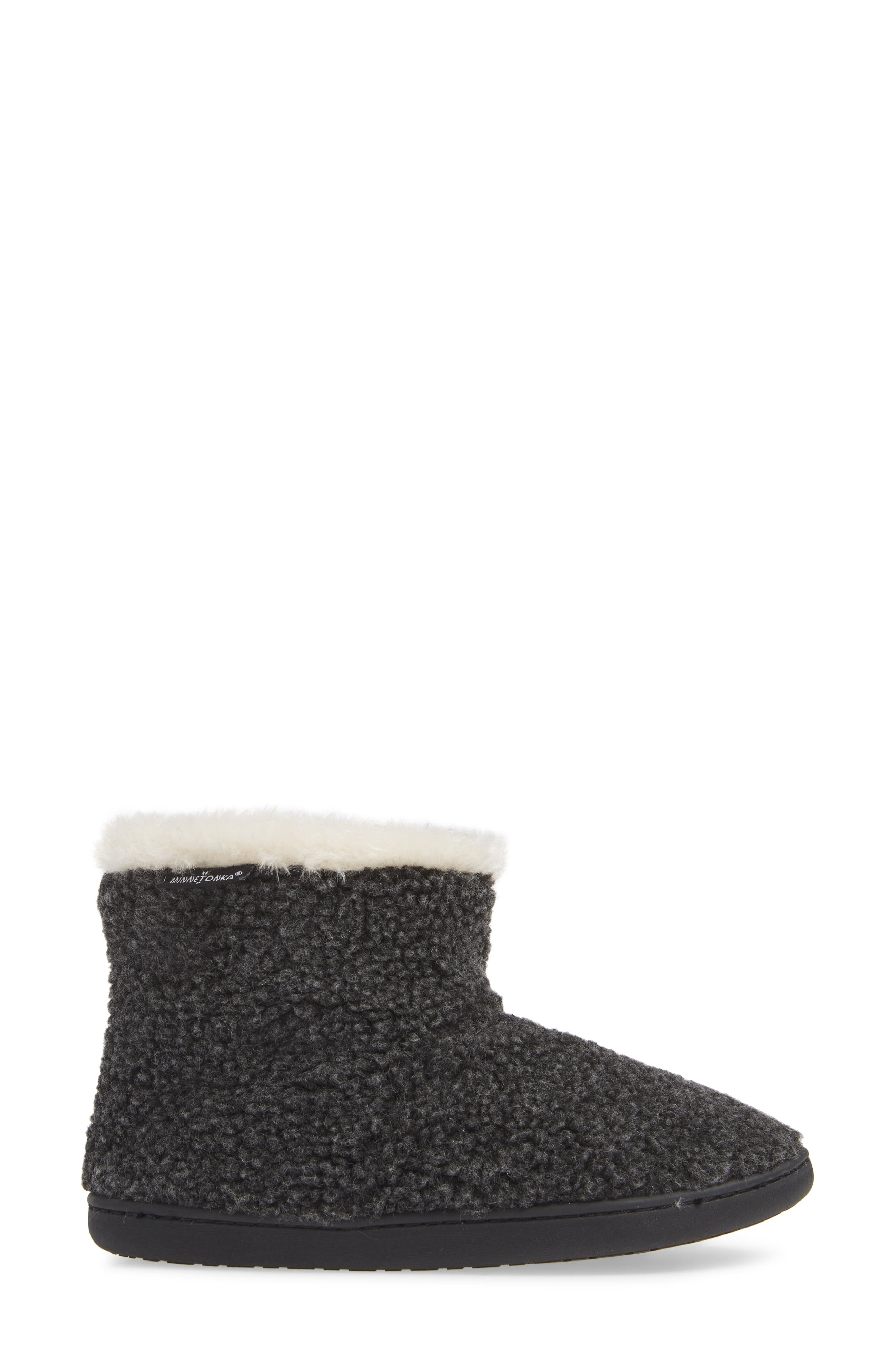 Betty Bootie,                             Alternate thumbnail 3, color,                             CHARCOAL BERBER