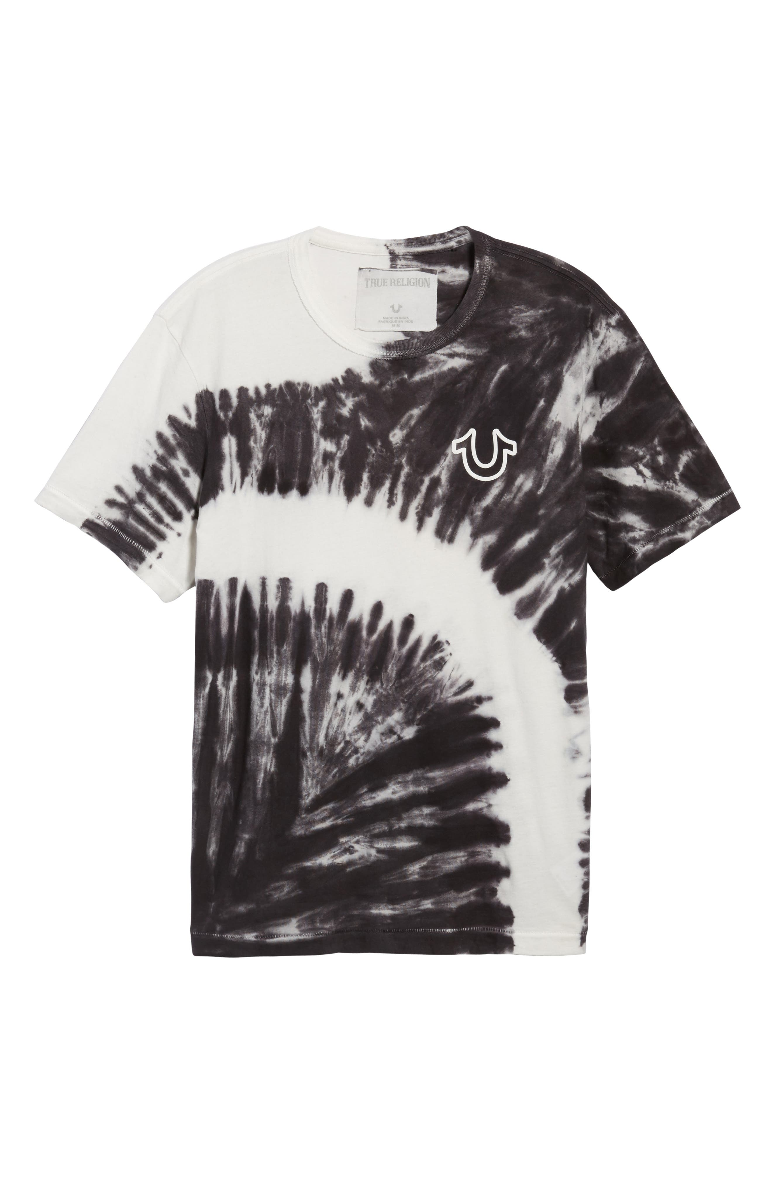 Bleached Washed T-Shirt,                             Alternate thumbnail 6, color,                             400
