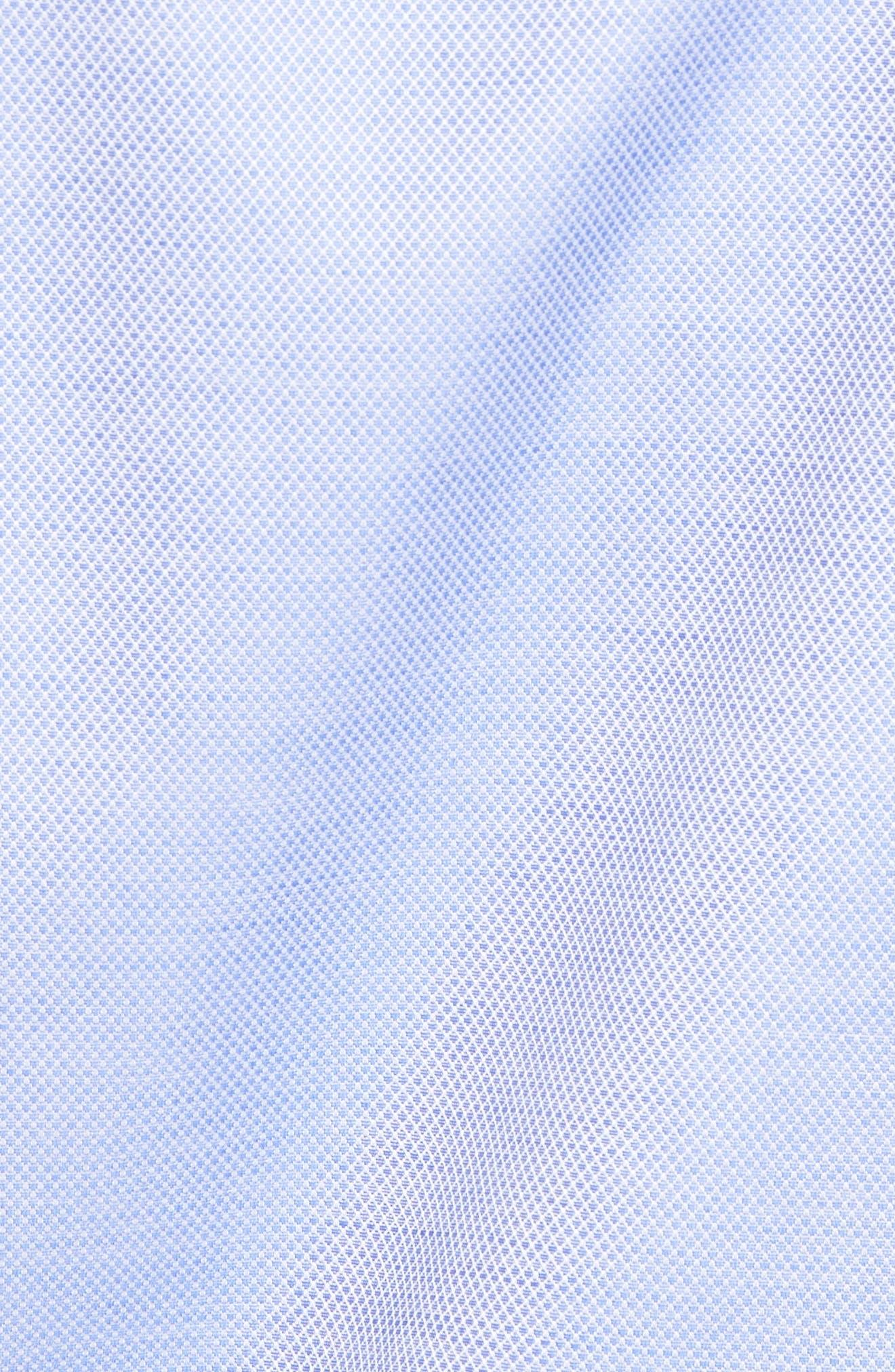 Micro Diamond Regular Fit Sport Shirt,                             Alternate thumbnail 5, color,                             423