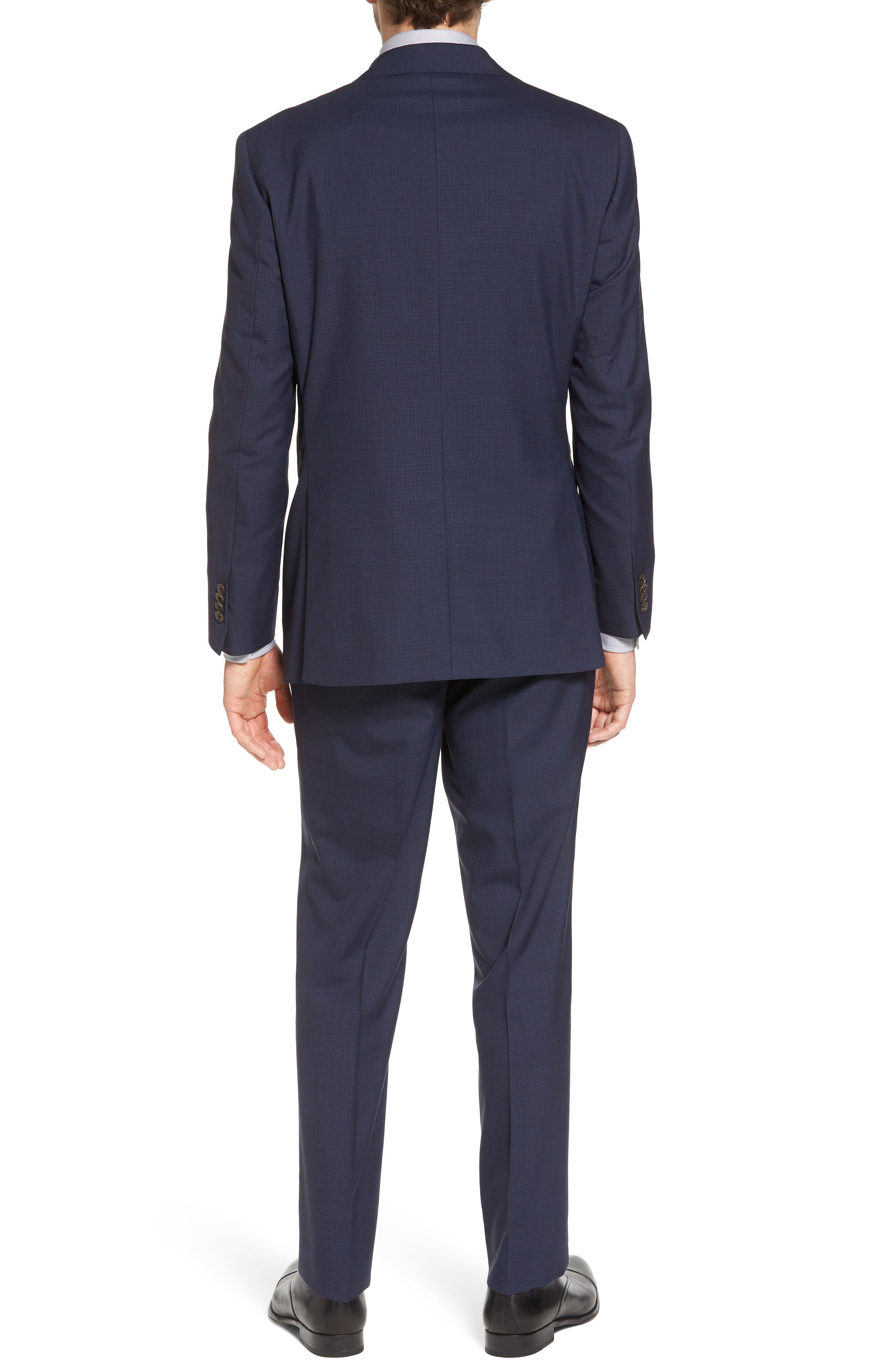 Ryan Classic Fit Houndstooth Wool Suit,                             Alternate thumbnail 2, color,                             410