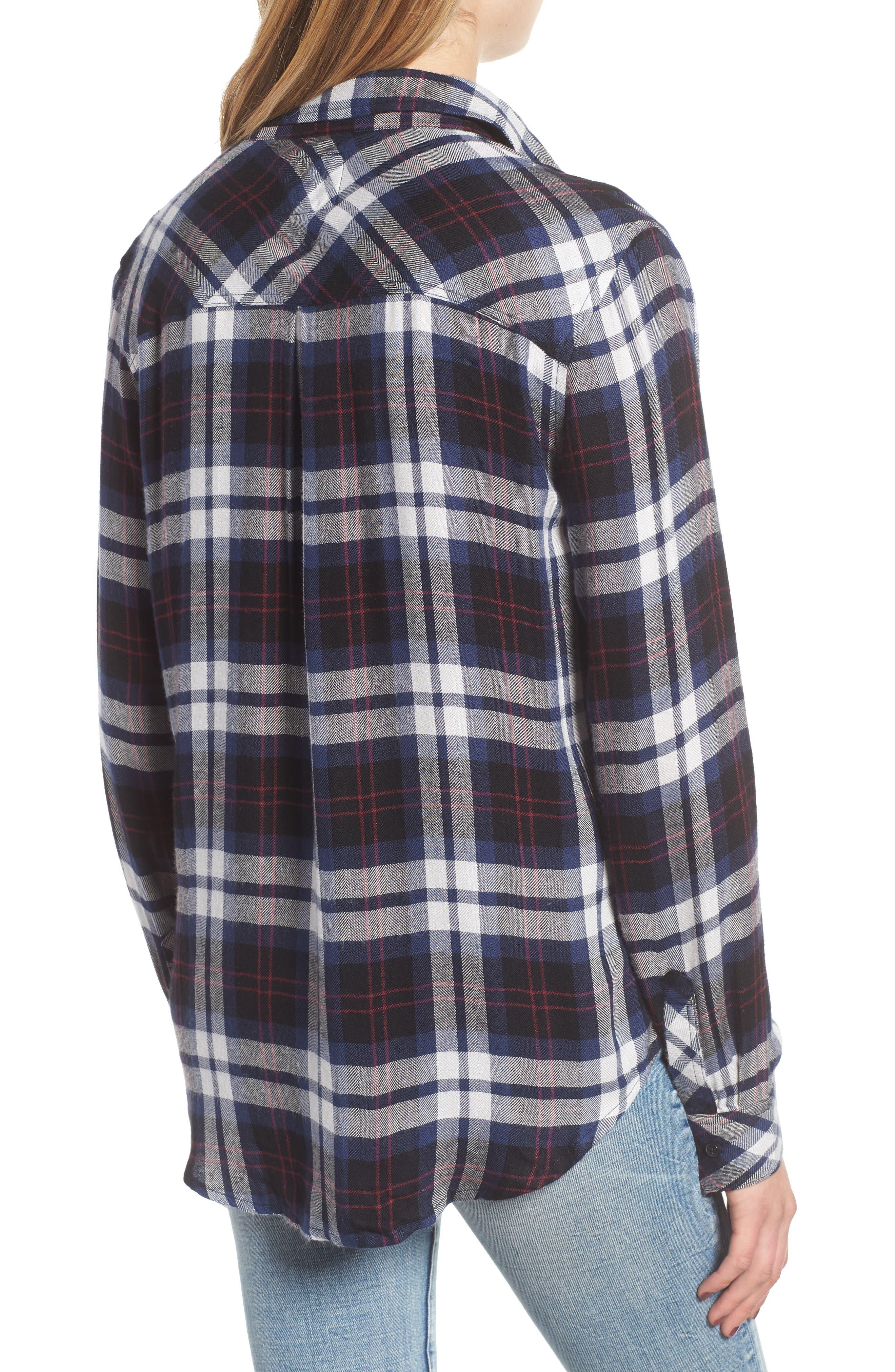 Hunter Plaid Shirt,                             Alternate thumbnail 145, color,