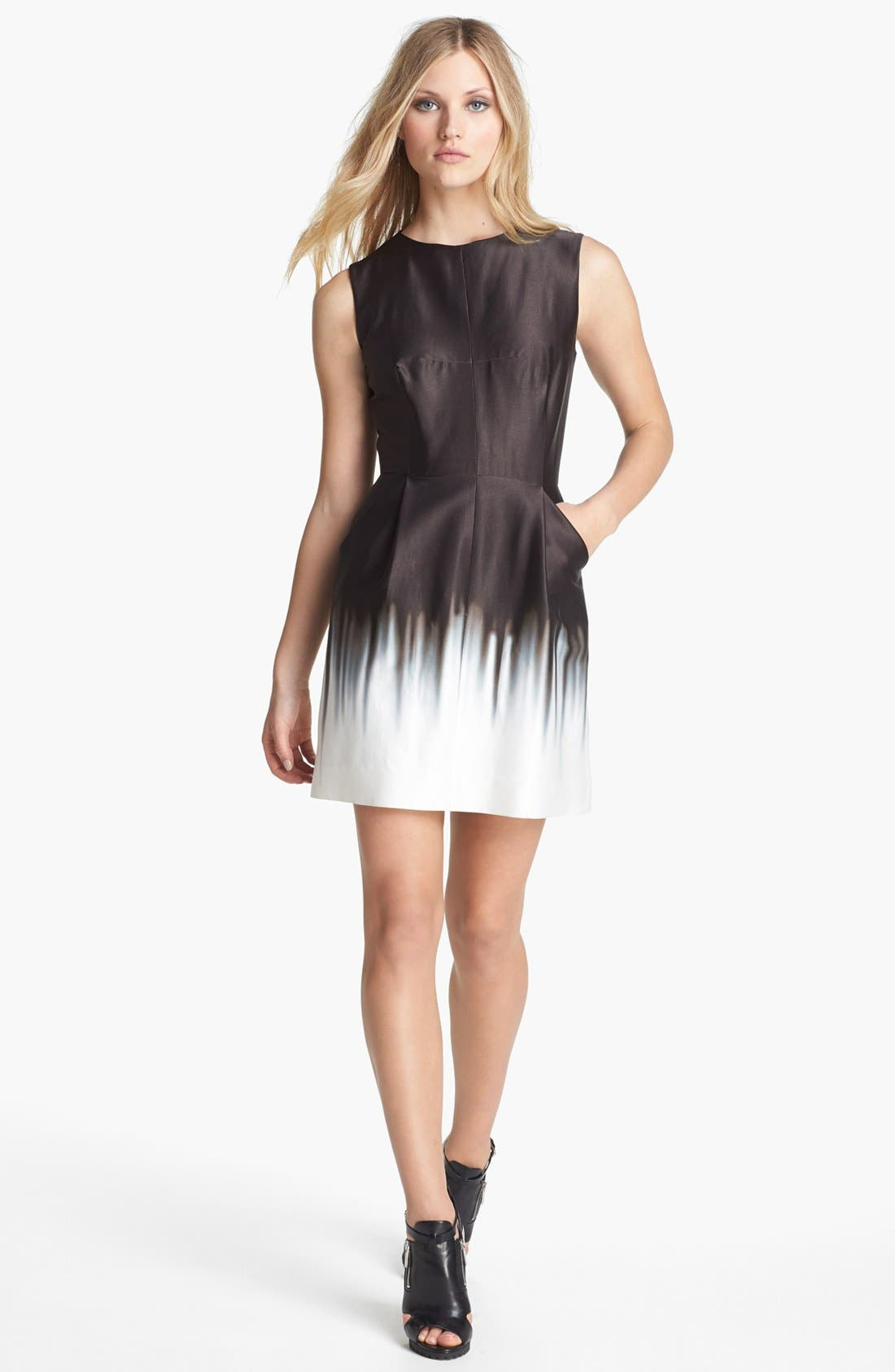 MILLY 'Coco' Print Sheath Dress, Main, color, 150