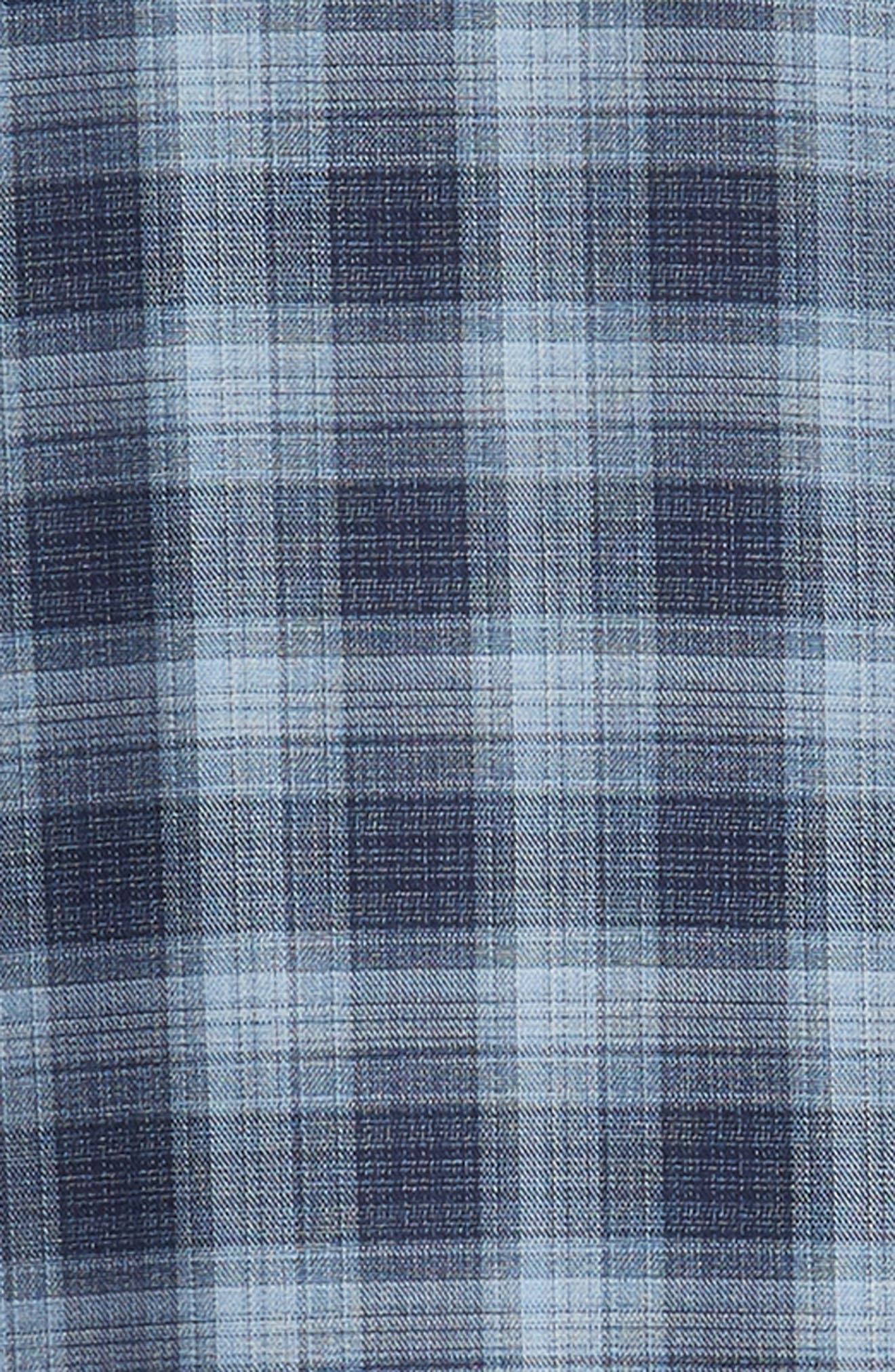 Oris Regular Fit Check Sport Shirt,                             Alternate thumbnail 6, color,                             BLUE