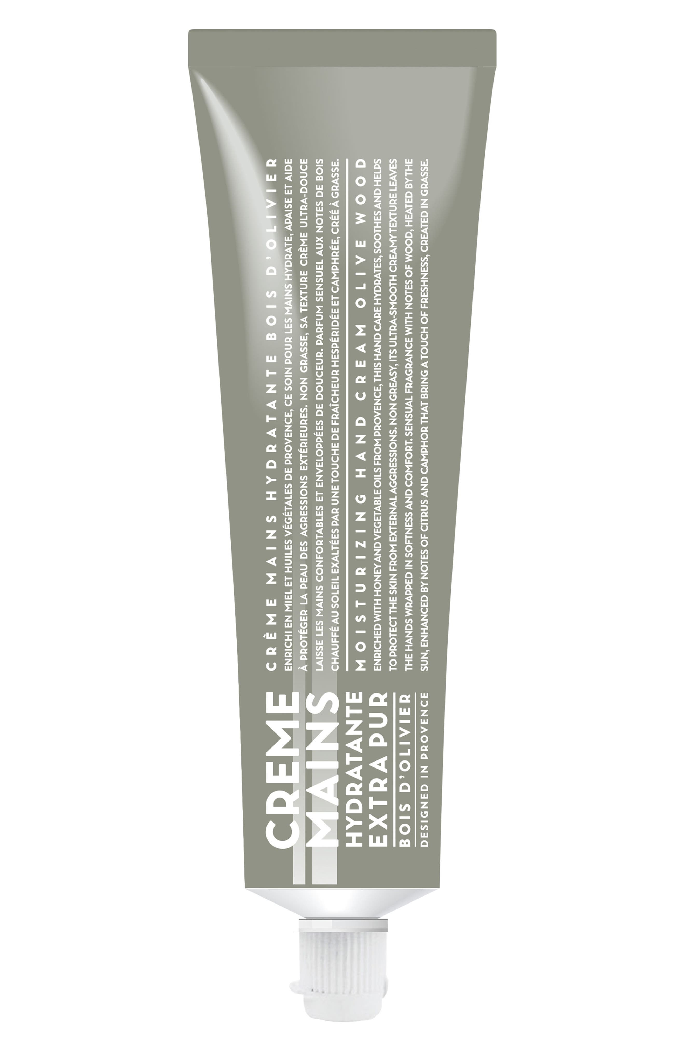 COMPAGNIE DE PROVENCE,                             Olive Wood Moisturizing Hand Cream,                             Main thumbnail 1, color,                             NO COLOR