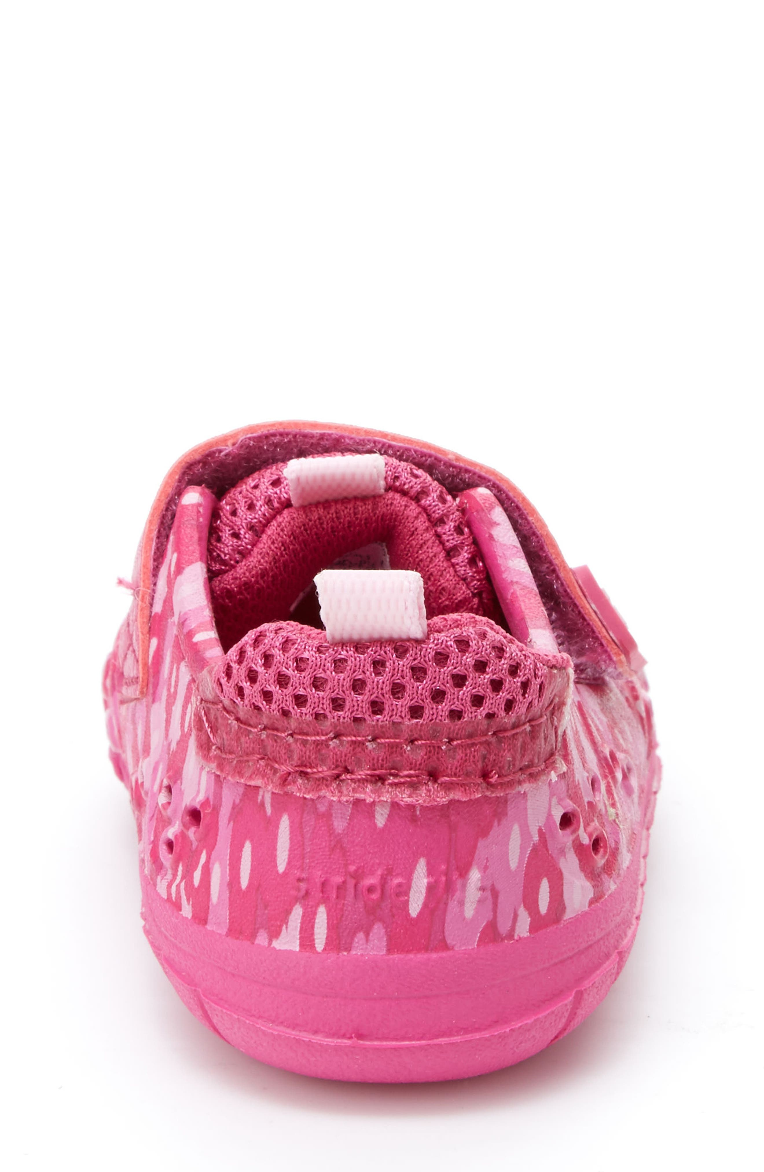 STRIDE RITE,                             Made2Play<sup>®</sup> Phibian Sneaker,                             Alternate thumbnail 2, color,                             PINK FLORAL EVA