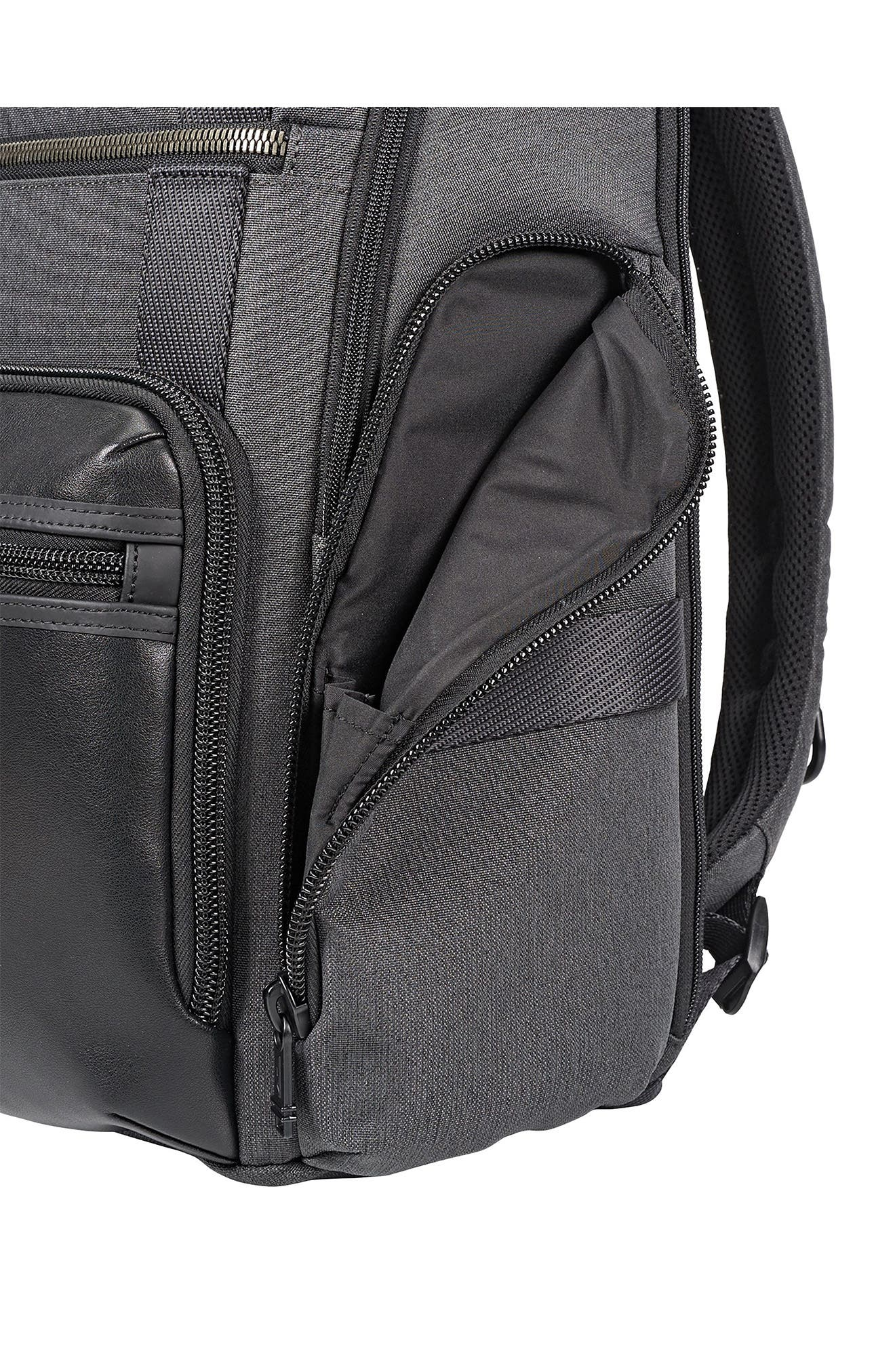 Alpha Bravo - Sheppard Deluxe Backpack,                             Alternate thumbnail 4, color,                             ANTHRACITE