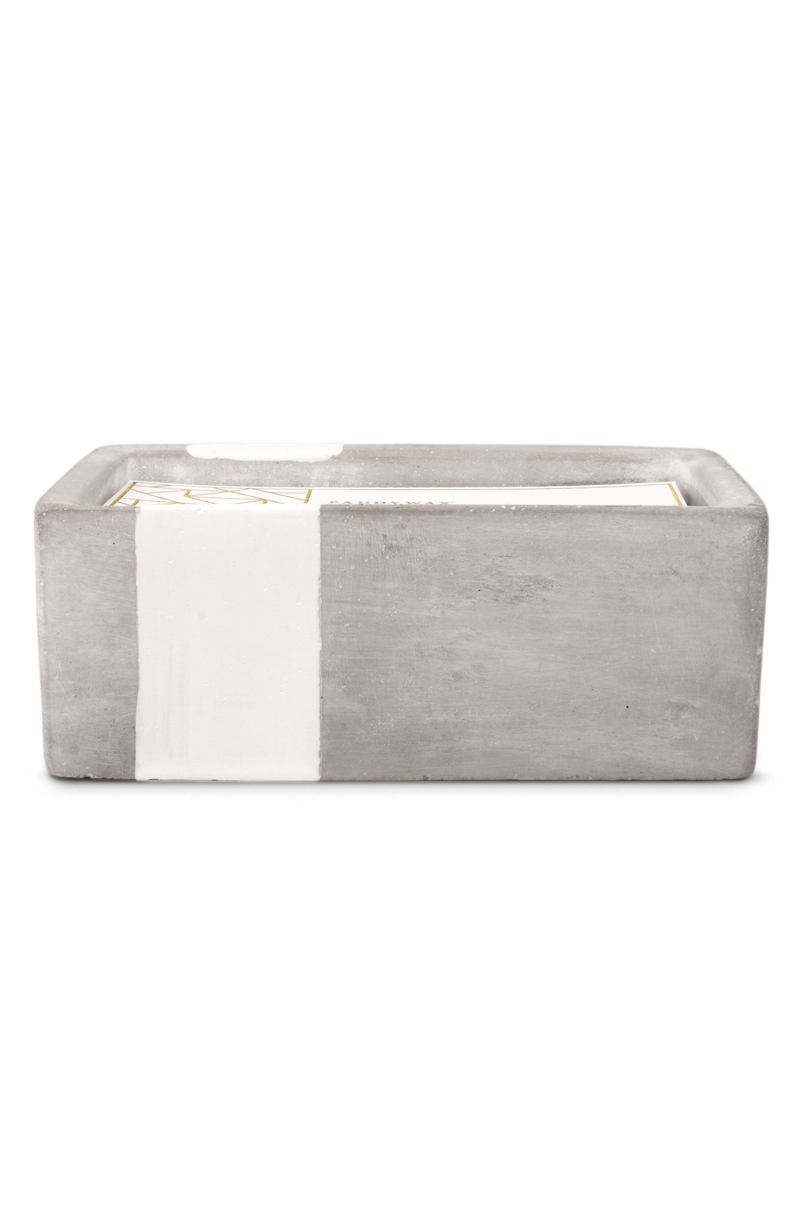 Urban Concrete Soy Wax Candle,                             Main thumbnail 1, color,
