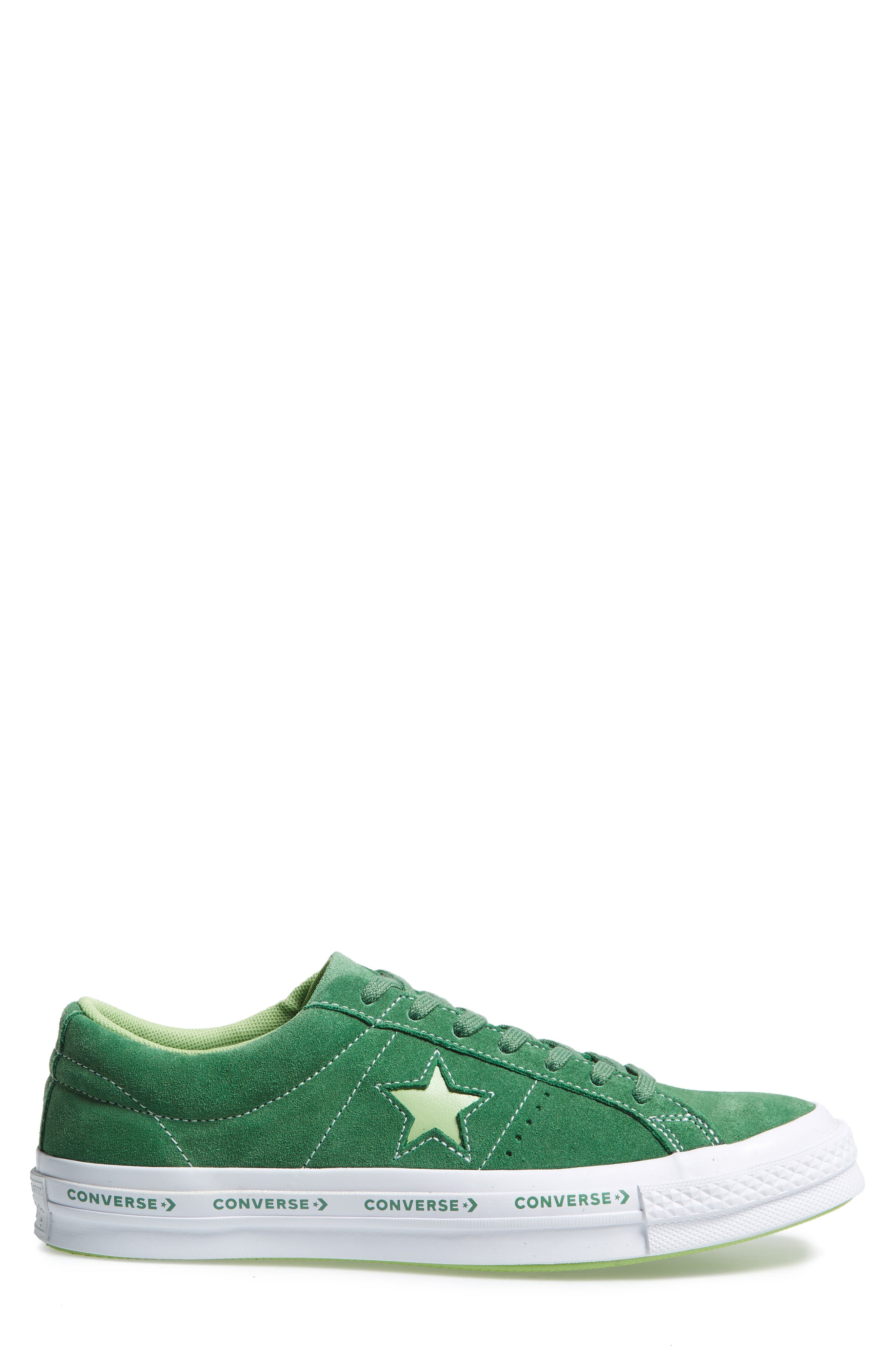 Chuck Taylor<sup>®</sup> One Star Pinstripe Sneaker,                             Alternate thumbnail 3, color,                             350
