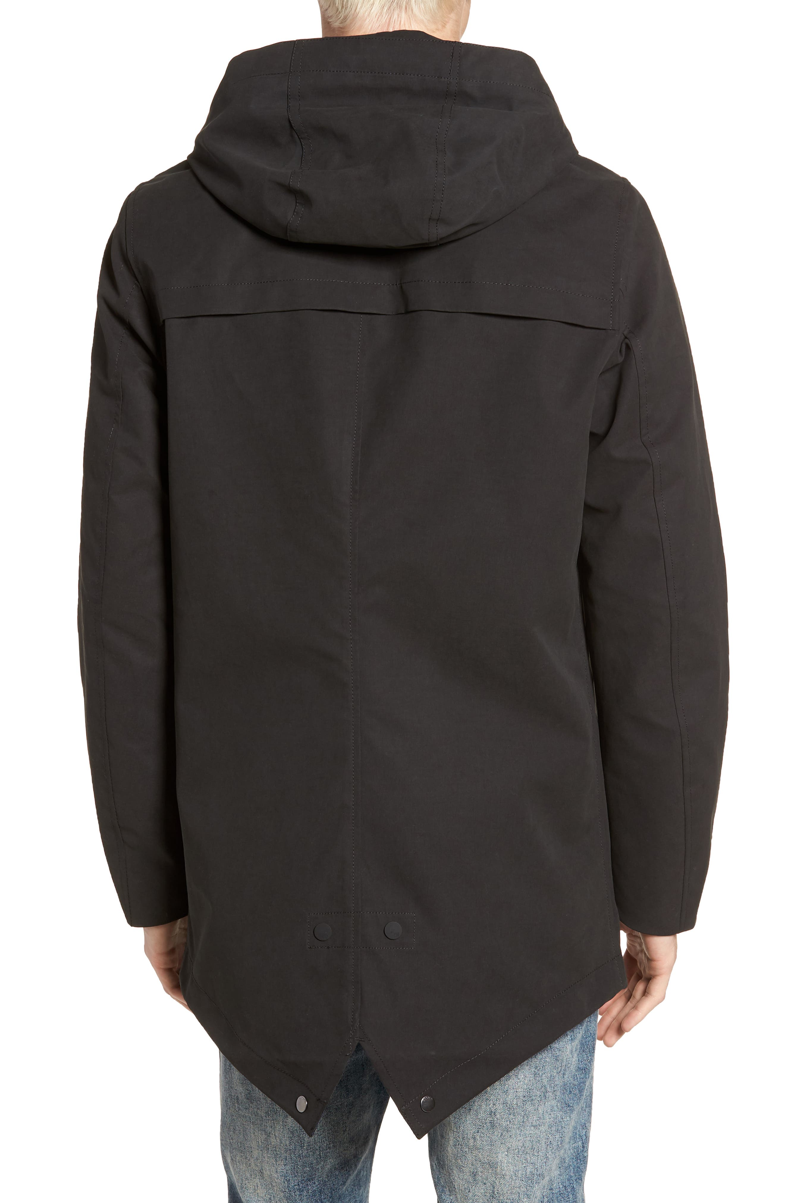 Classic Hooded Parka,                             Alternate thumbnail 4, color,