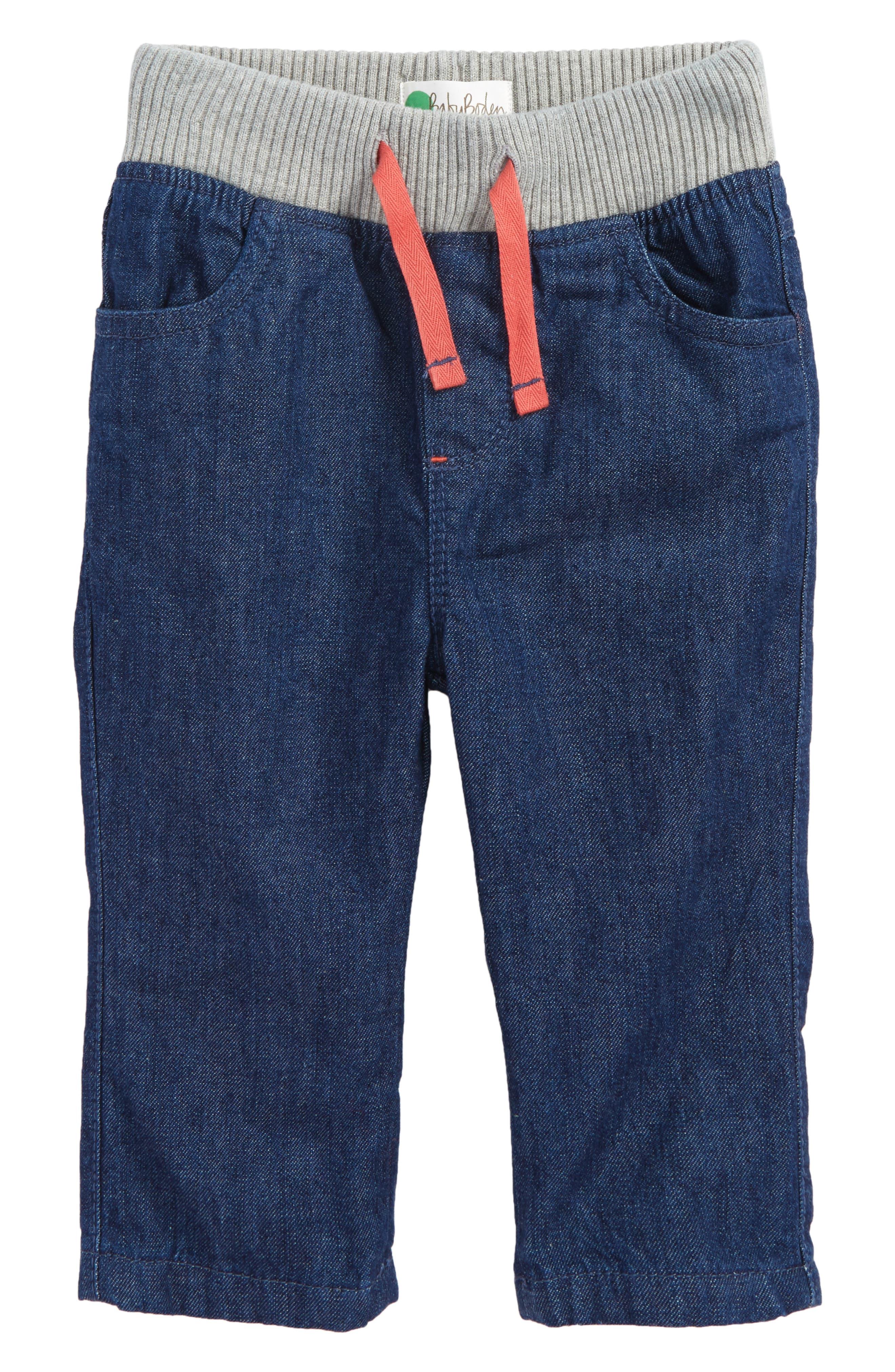 Rib Waist Pants,                             Main thumbnail 2, color,