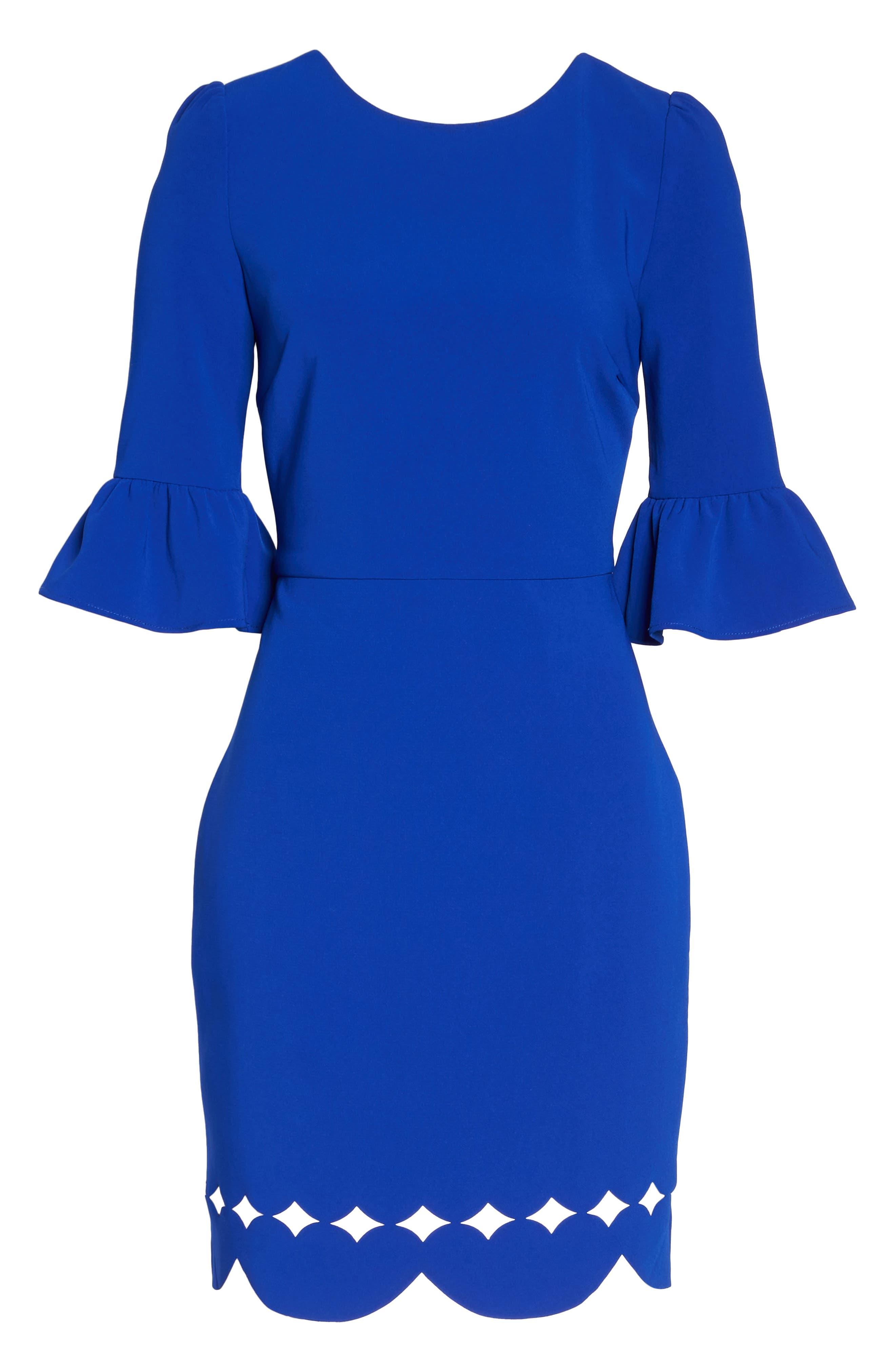 Blair Sheath Dress,                             Alternate thumbnail 6, color,                             400