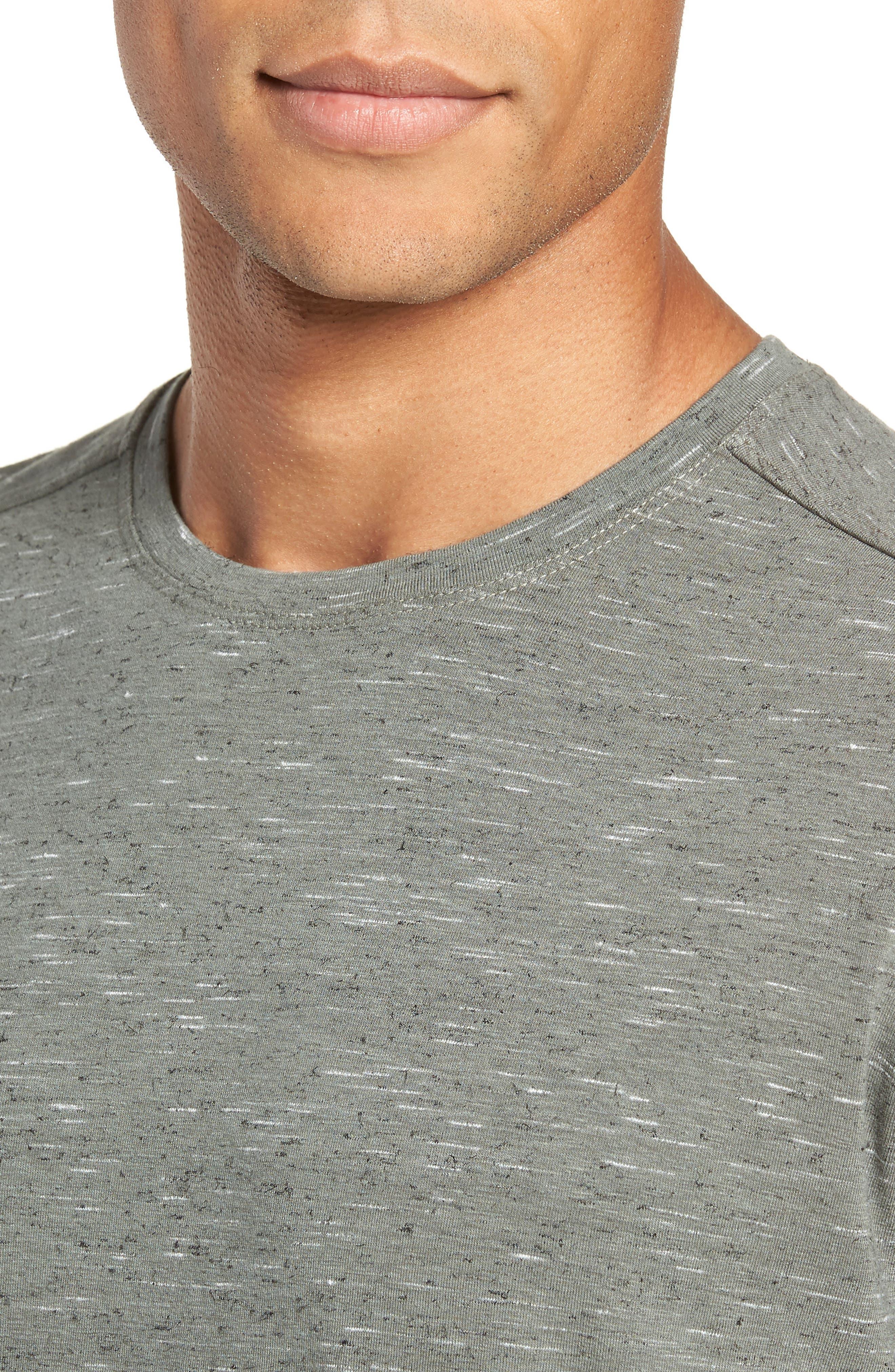Neppy Crewneck T-Shirt,                             Alternate thumbnail 4, color,                             GREY LUNAR NEP