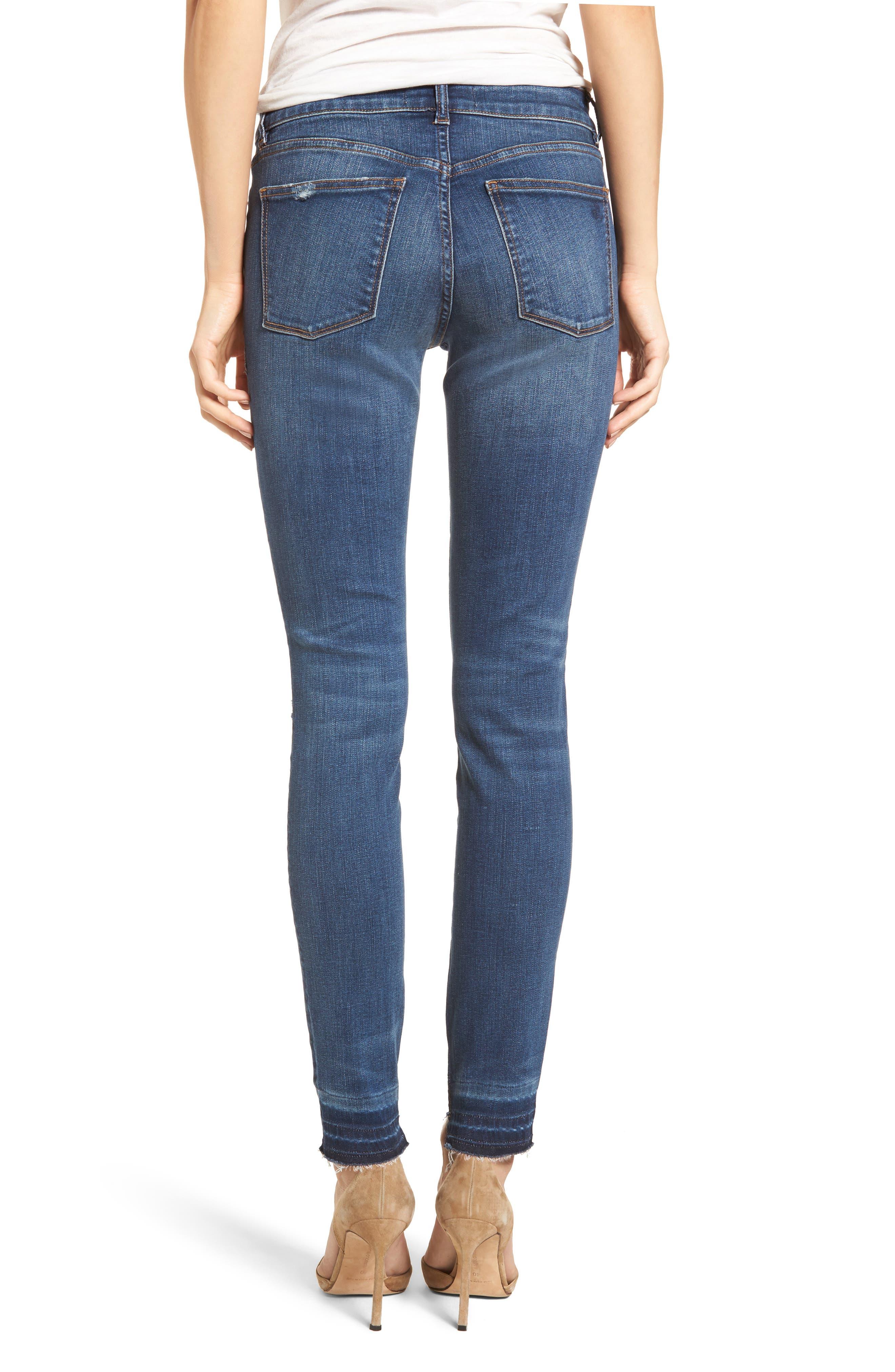 Florence Released Step Hem Skinny Jeans,                             Alternate thumbnail 2, color,                             430