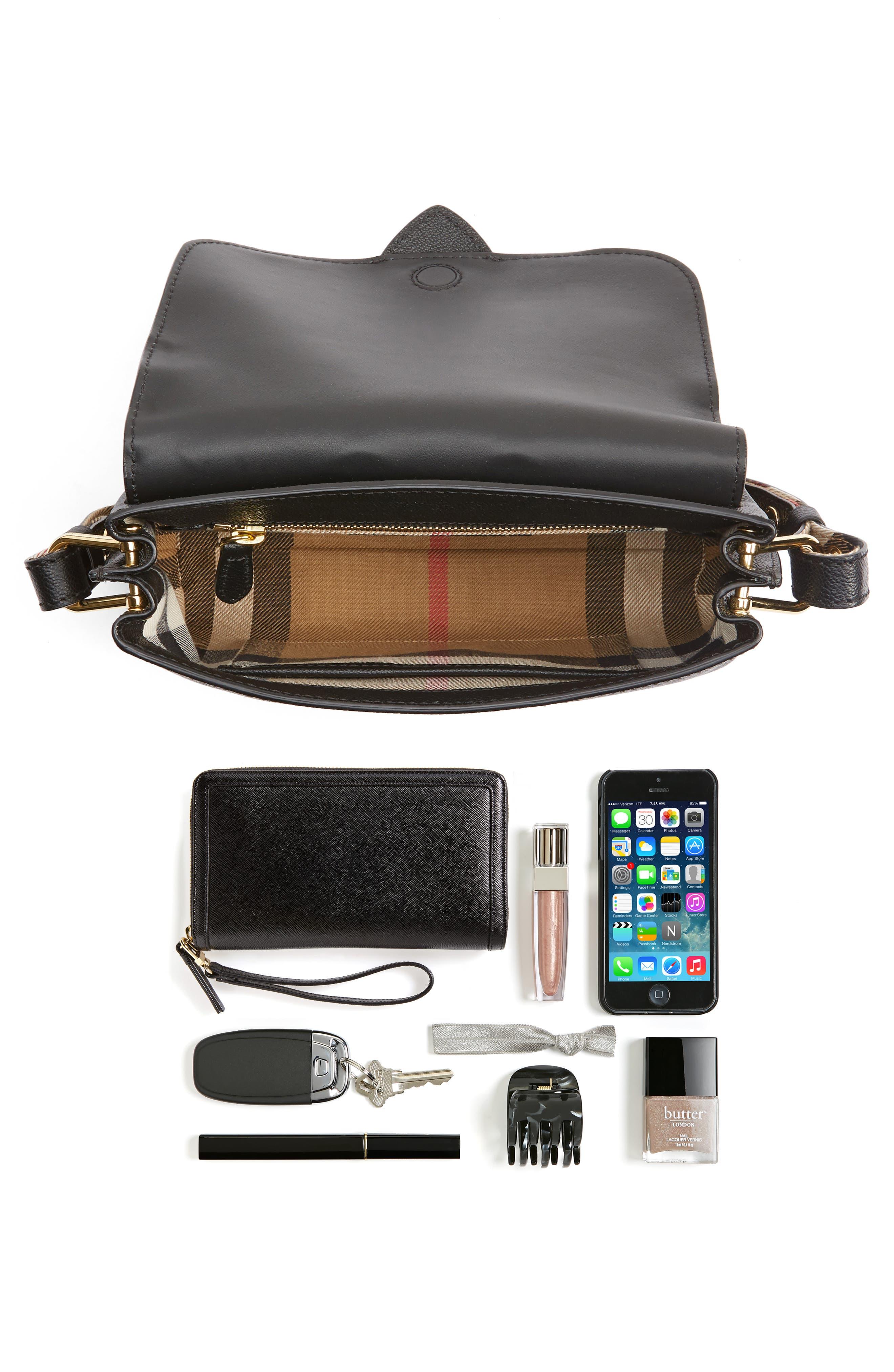 Small Medley Leather Crossbody Bag,                             Alternate thumbnail 2, color,                             001