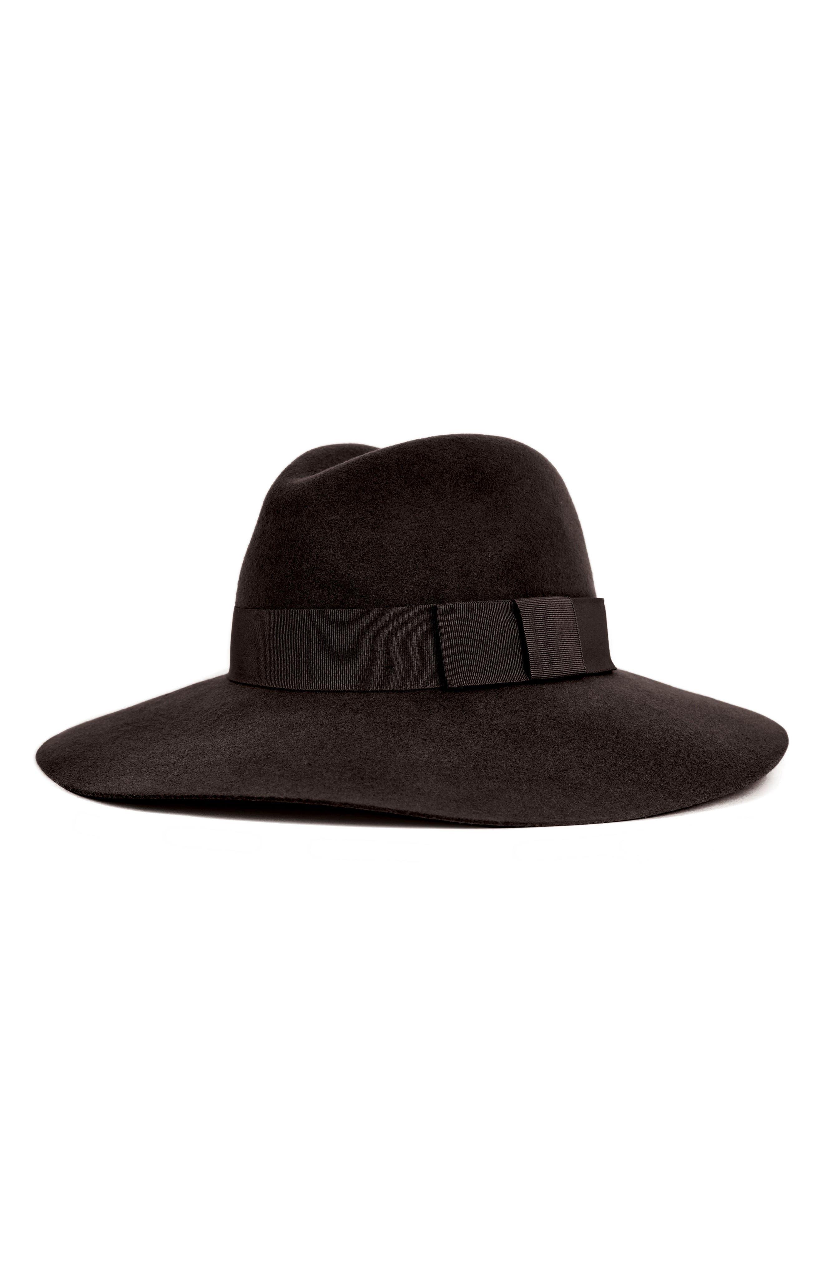 ... reduced brixton piper floppy wool hat black in black black a528c 1da77  ... 16bb49015aac