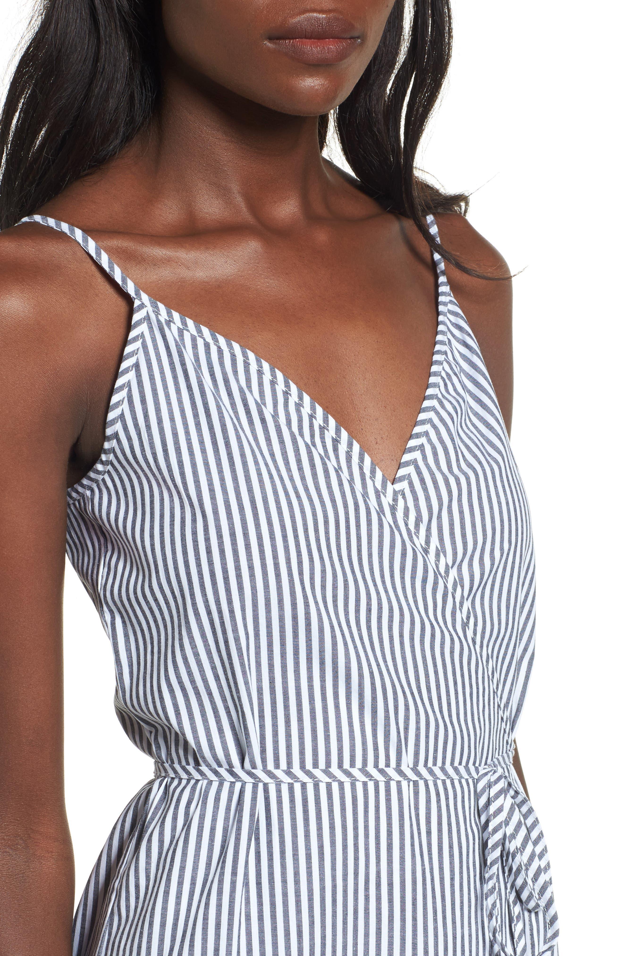 Wrap Midi Dress,                             Alternate thumbnail 13, color,