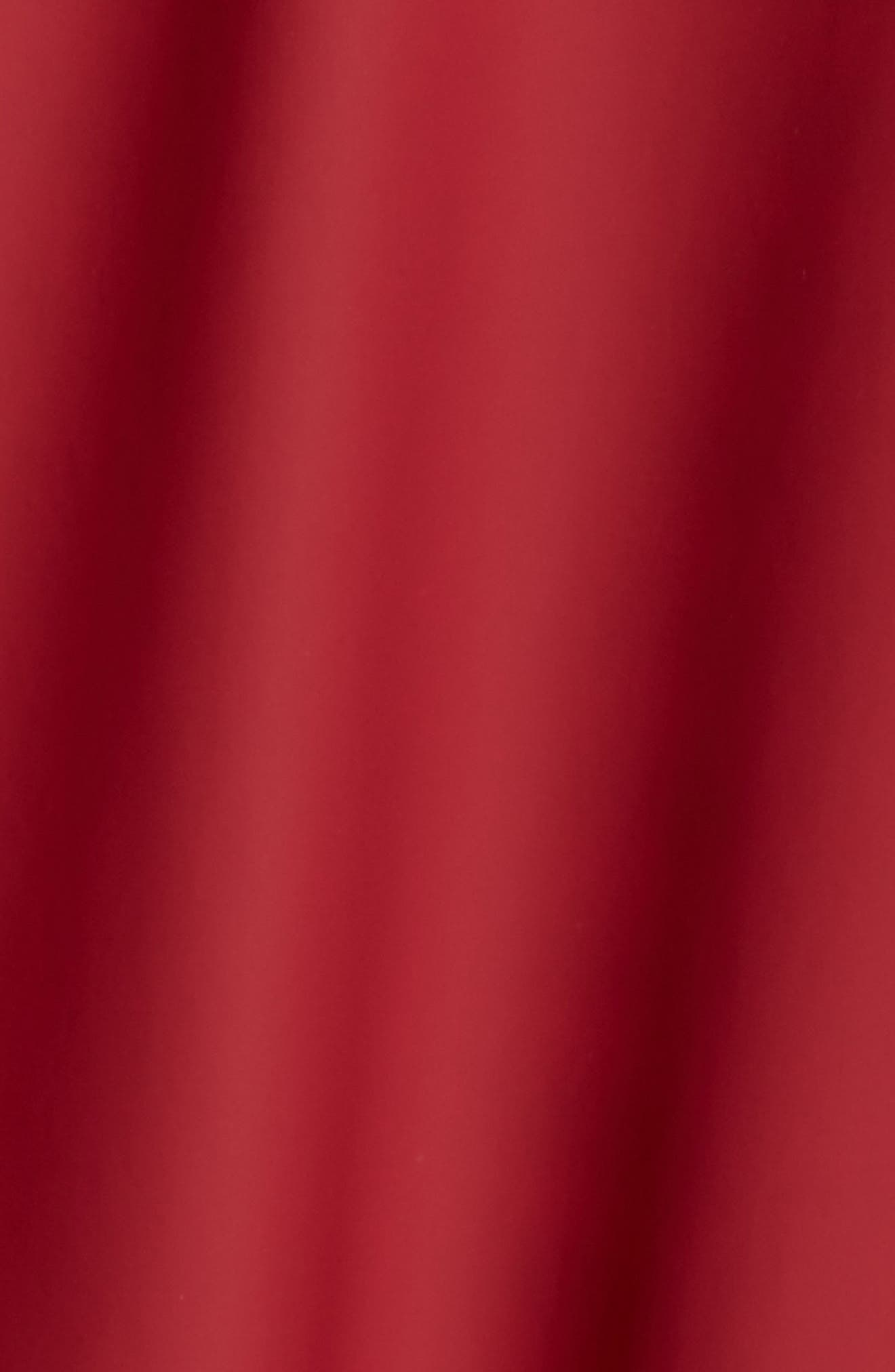 Hooded Rain Topper Jacket,                             Alternate thumbnail 6, color,                             RED