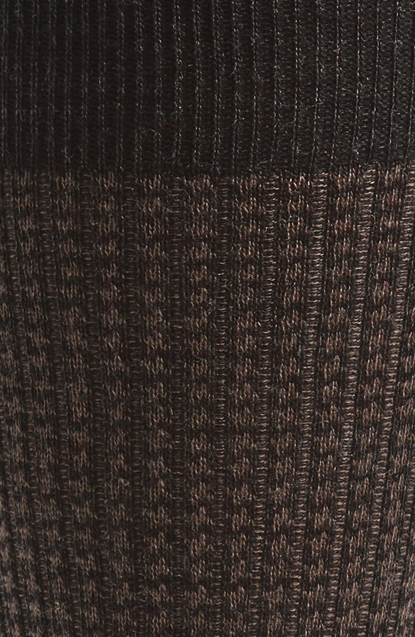 Houndstooth Wool Blend Socks,                             Alternate thumbnail 2, color,                             021