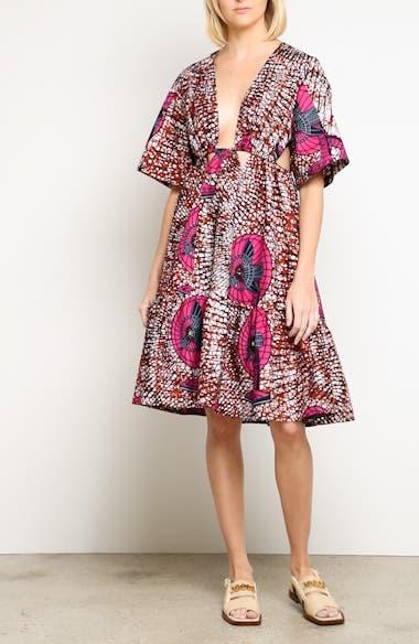 Print Cotton Dress, video thumbnail