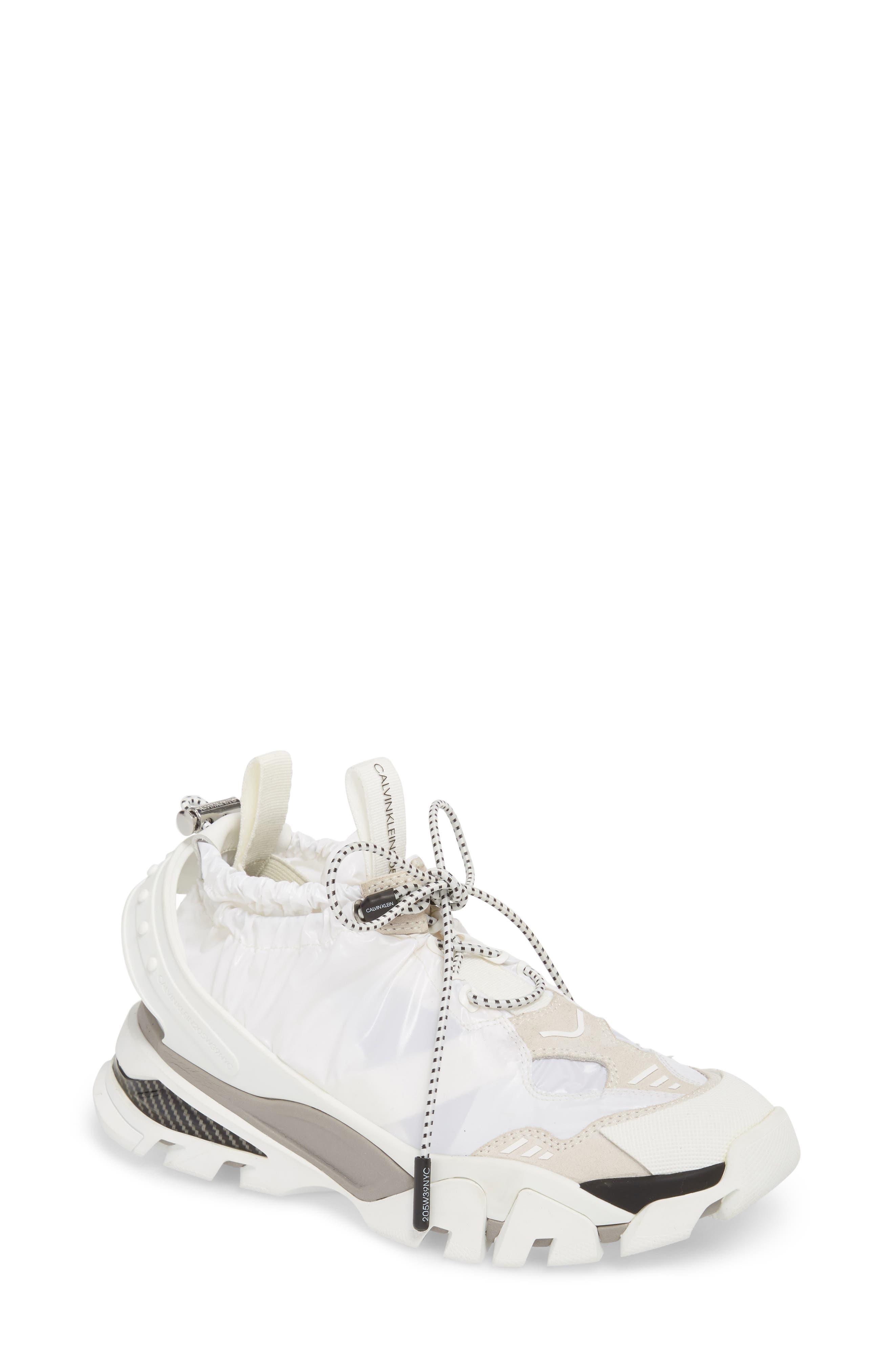 CALVIN KLEIN 205W39NYC,                             Candessa Slip-On Sneaker,                             Main thumbnail 1, color,                             100