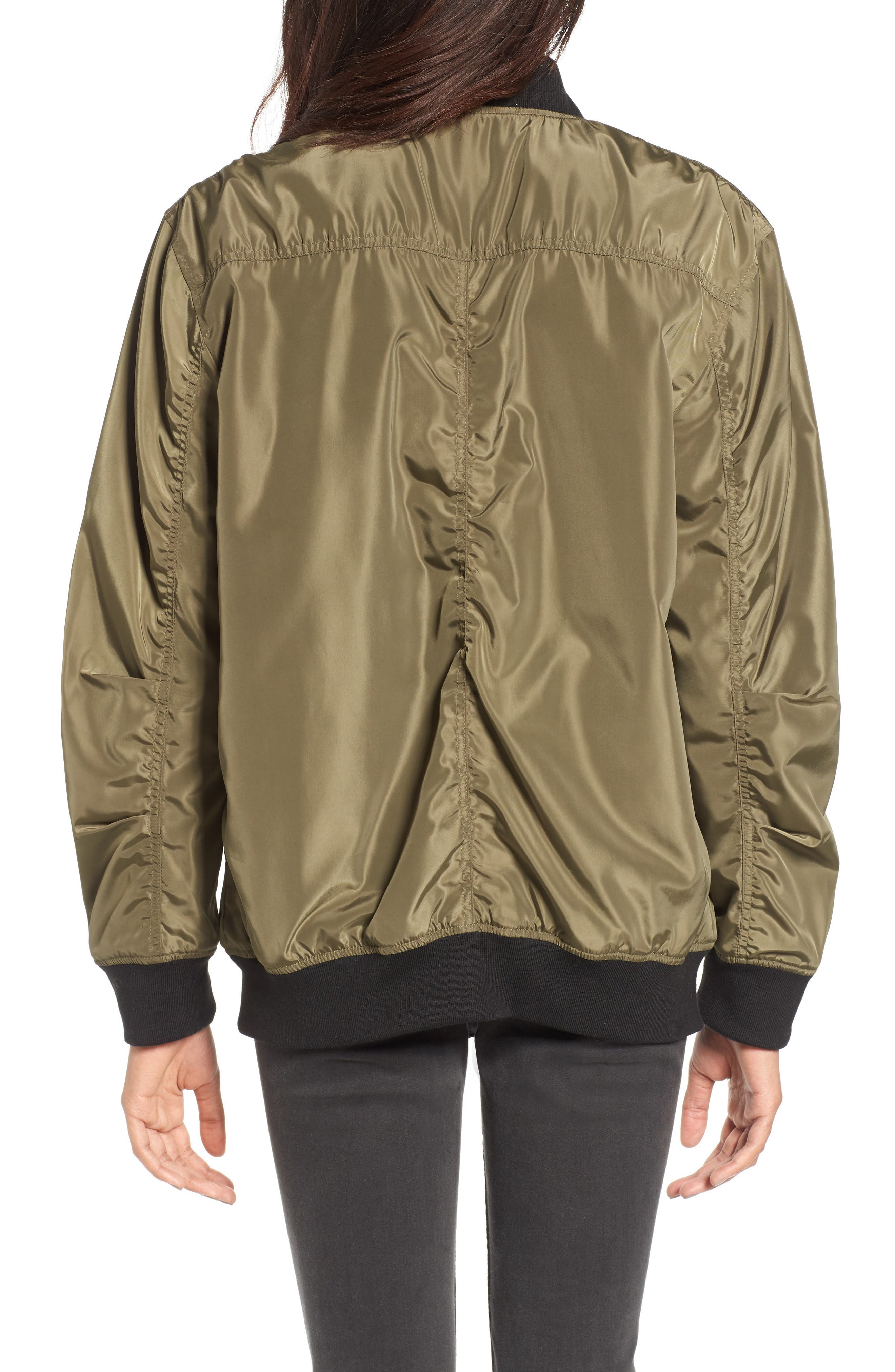 Reversible Bomber Jacket,                             Alternate thumbnail 2, color,                             311