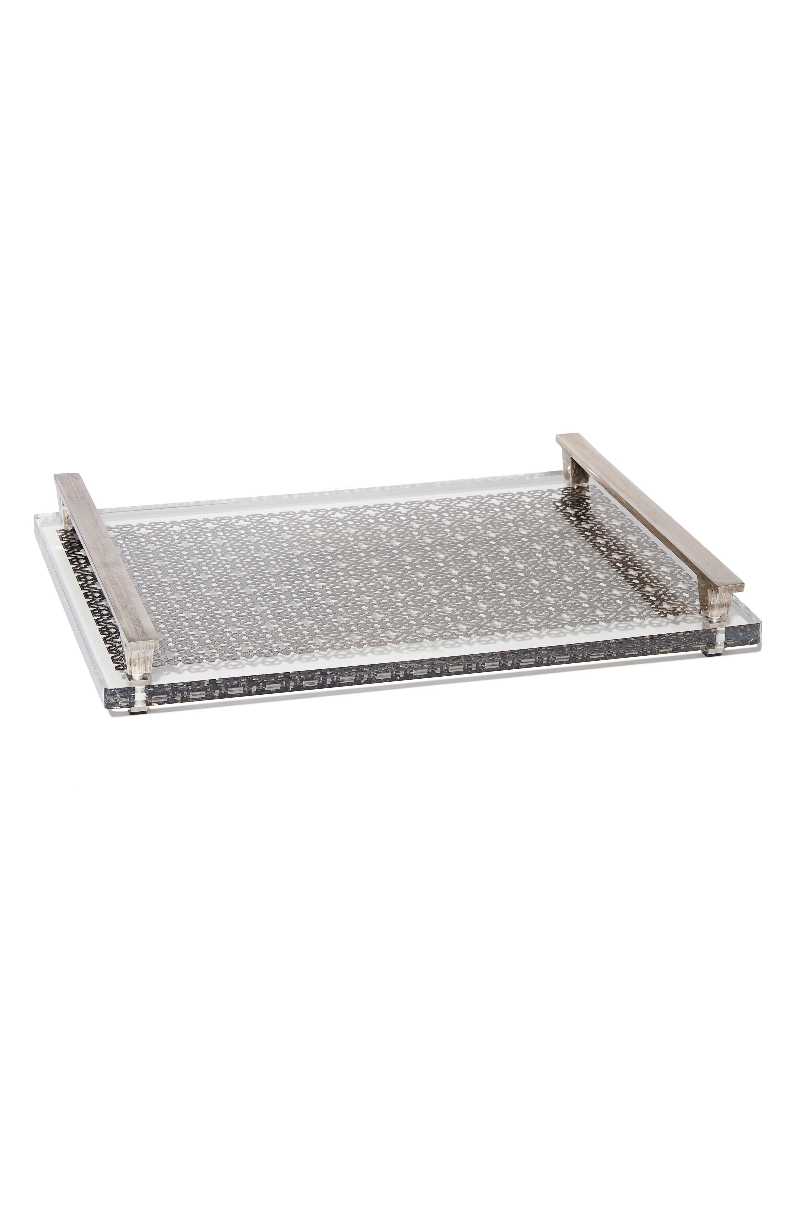 Filigree Acrylic Tray,                         Main,                         color, 042