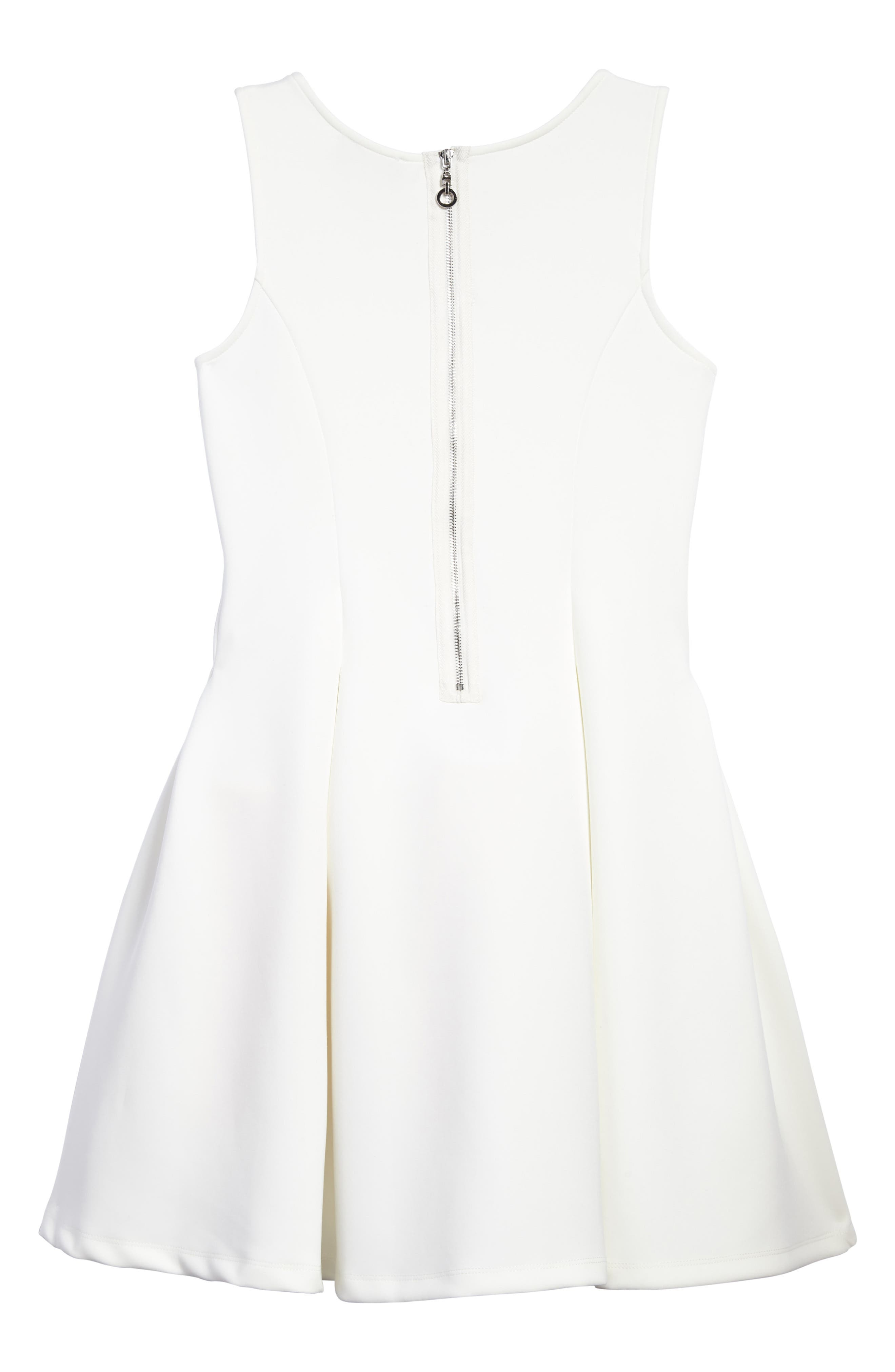 Sequin Embellished Bow A-Line Dress,                             Alternate thumbnail 2, color,                             250