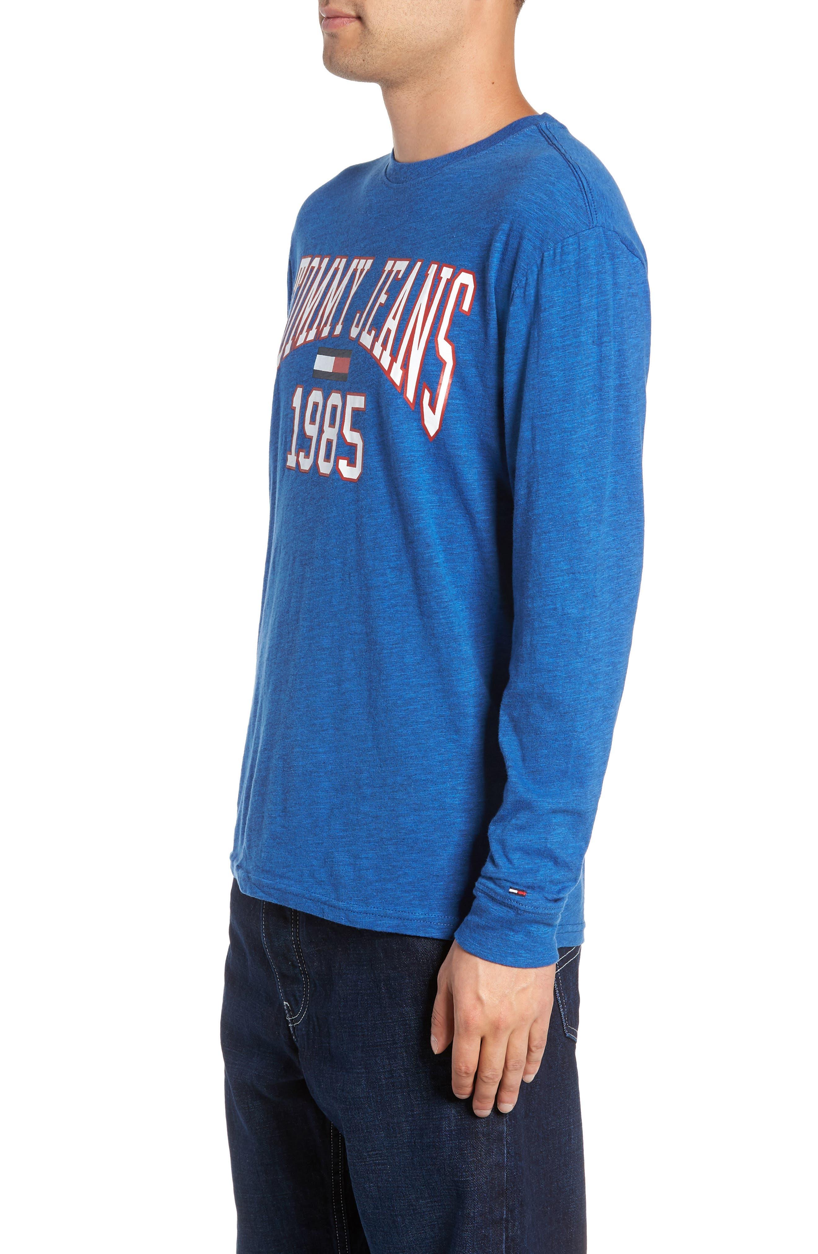 Collegiate Logo T-Shirt,                             Alternate thumbnail 3, color,                             SURF THE WEB