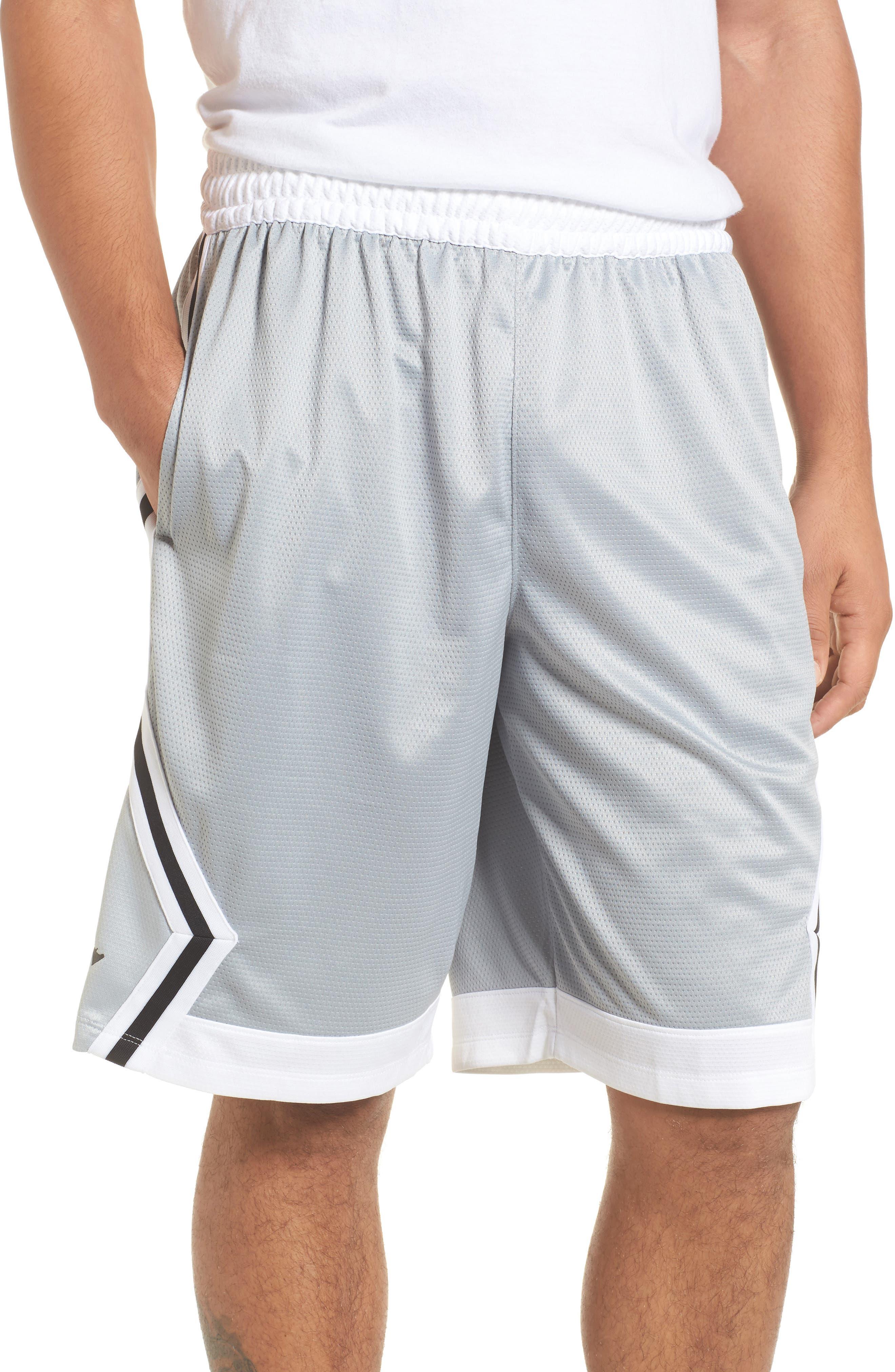 Sportswear Rise Diamond Shorts,                             Main thumbnail 1, color,                             011