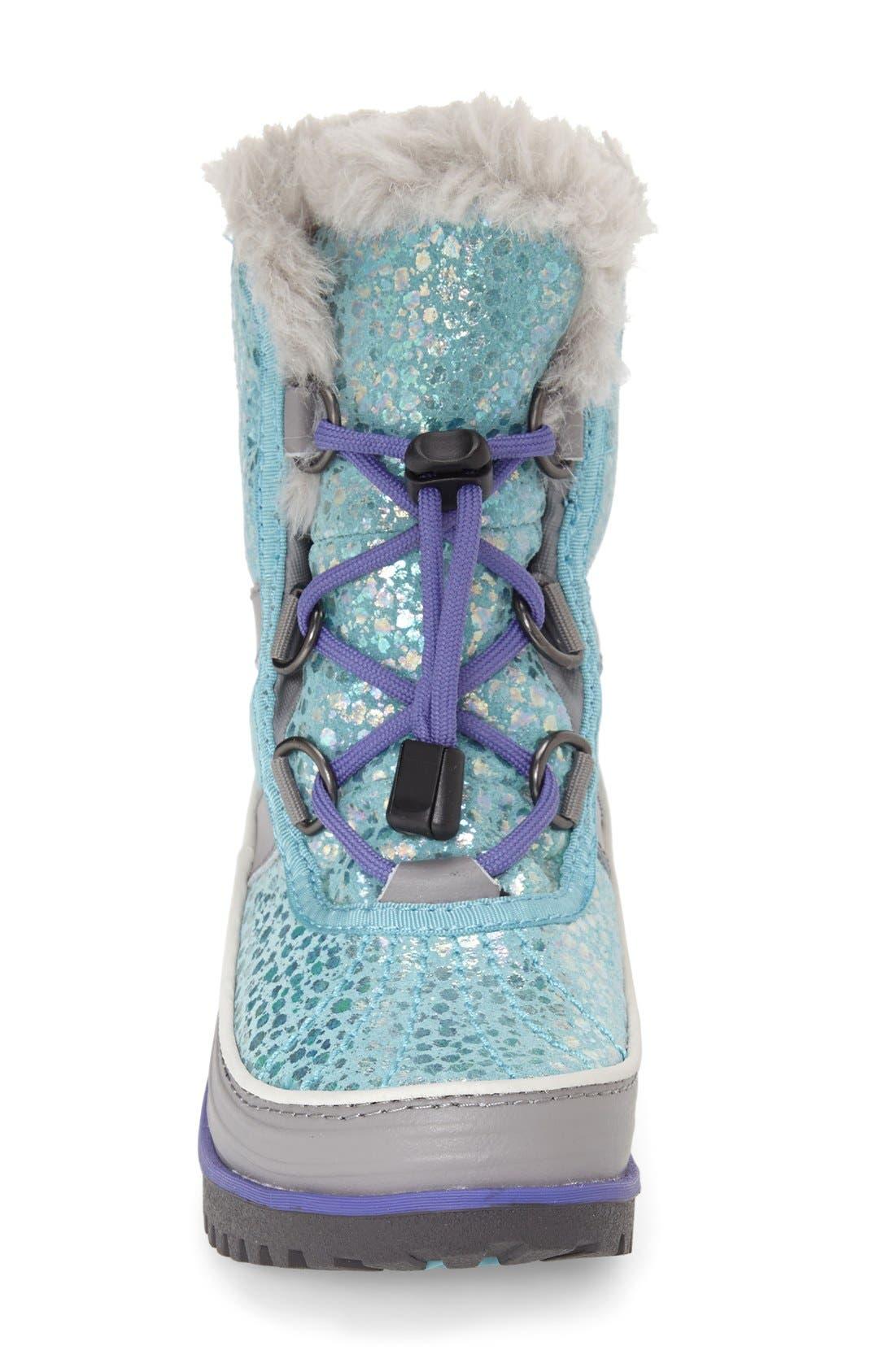 SOREL,                             'Tivoli II' Waterproof Snow Boot,                             Alternate thumbnail 3, color,                             546