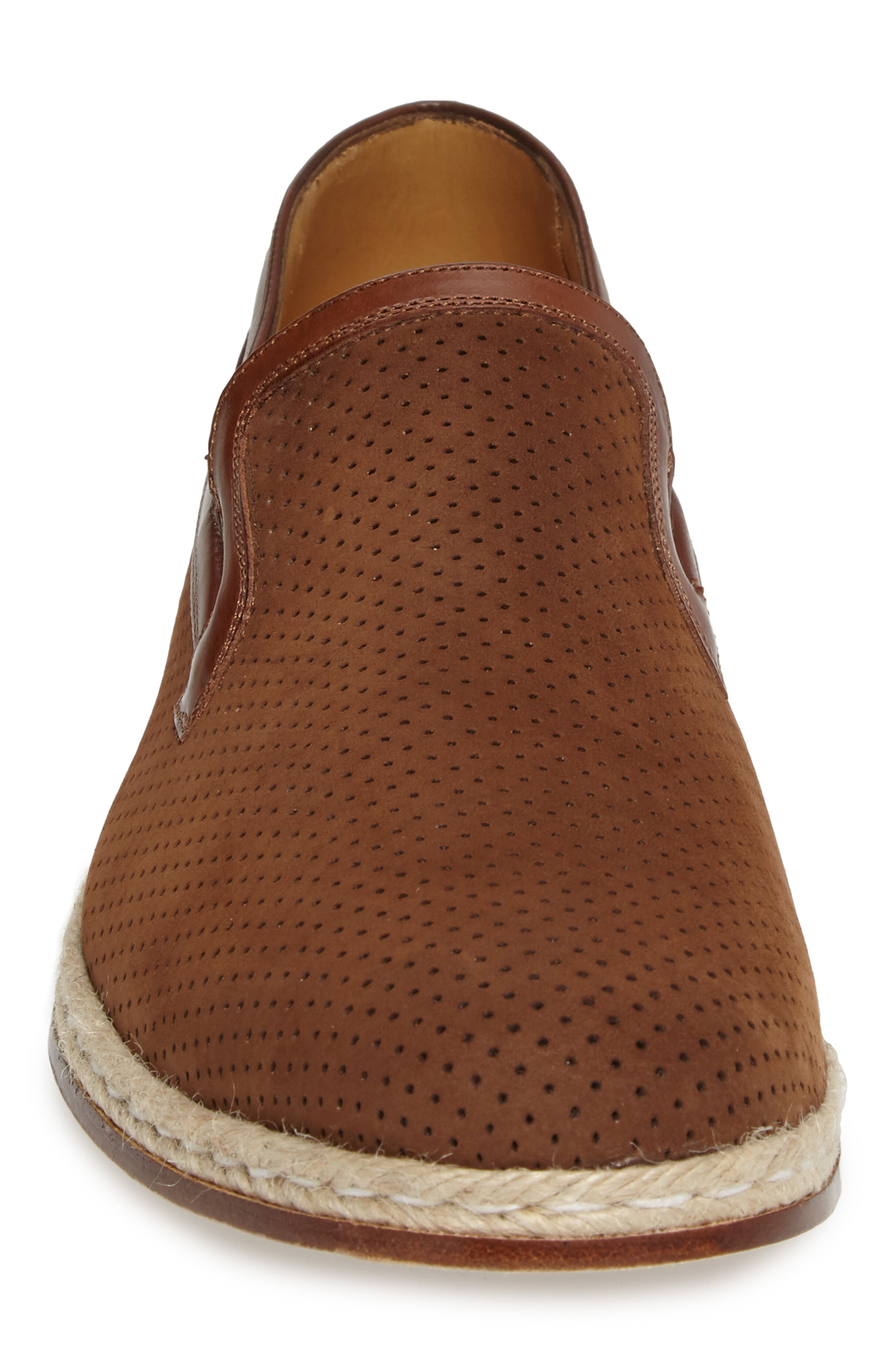 Marcet Perforated Loafer,                             Alternate thumbnail 4, color,                             200