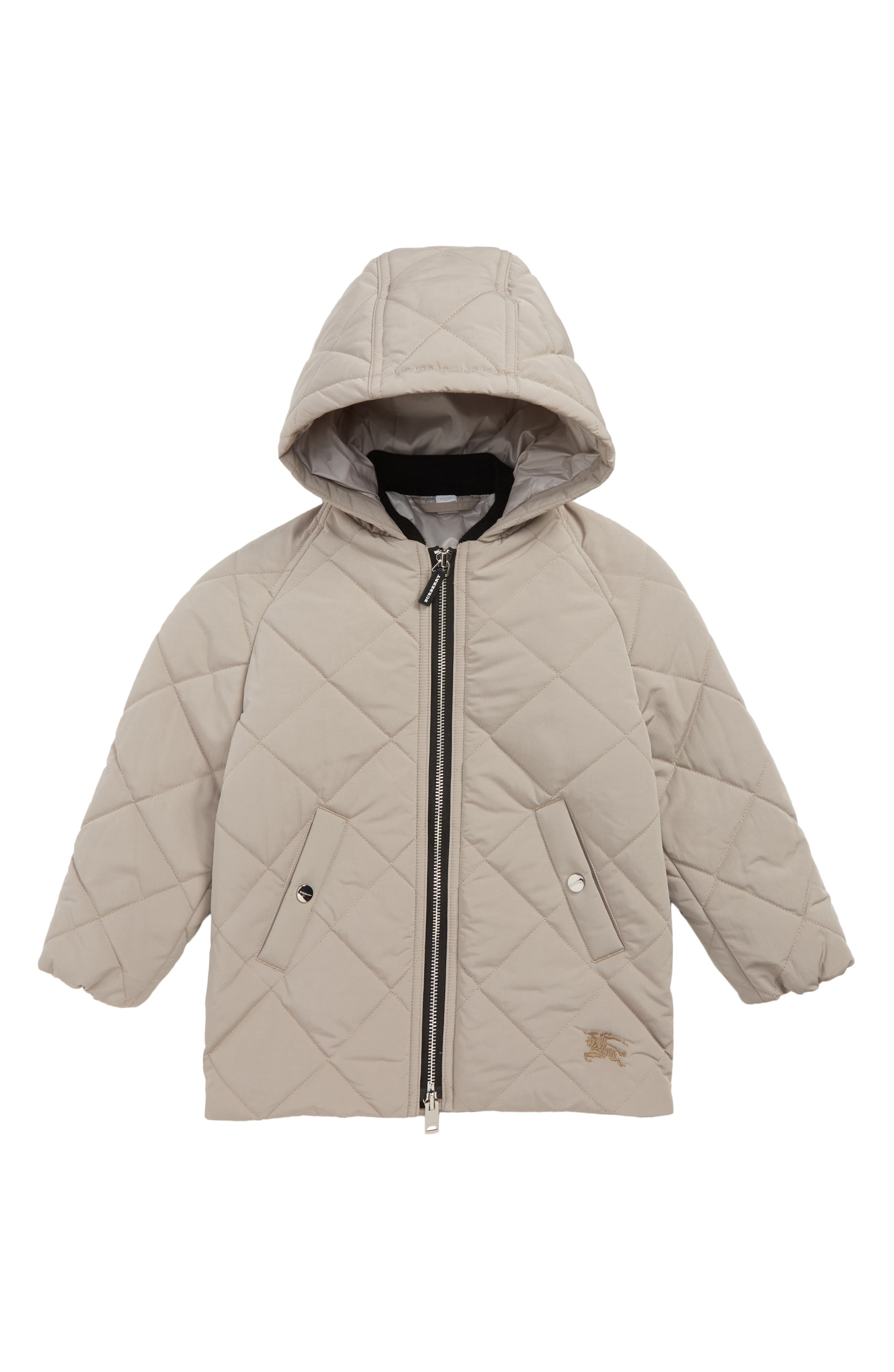 Mila Quilted Hooded Jacket,                             Main thumbnail 1, color,                             250