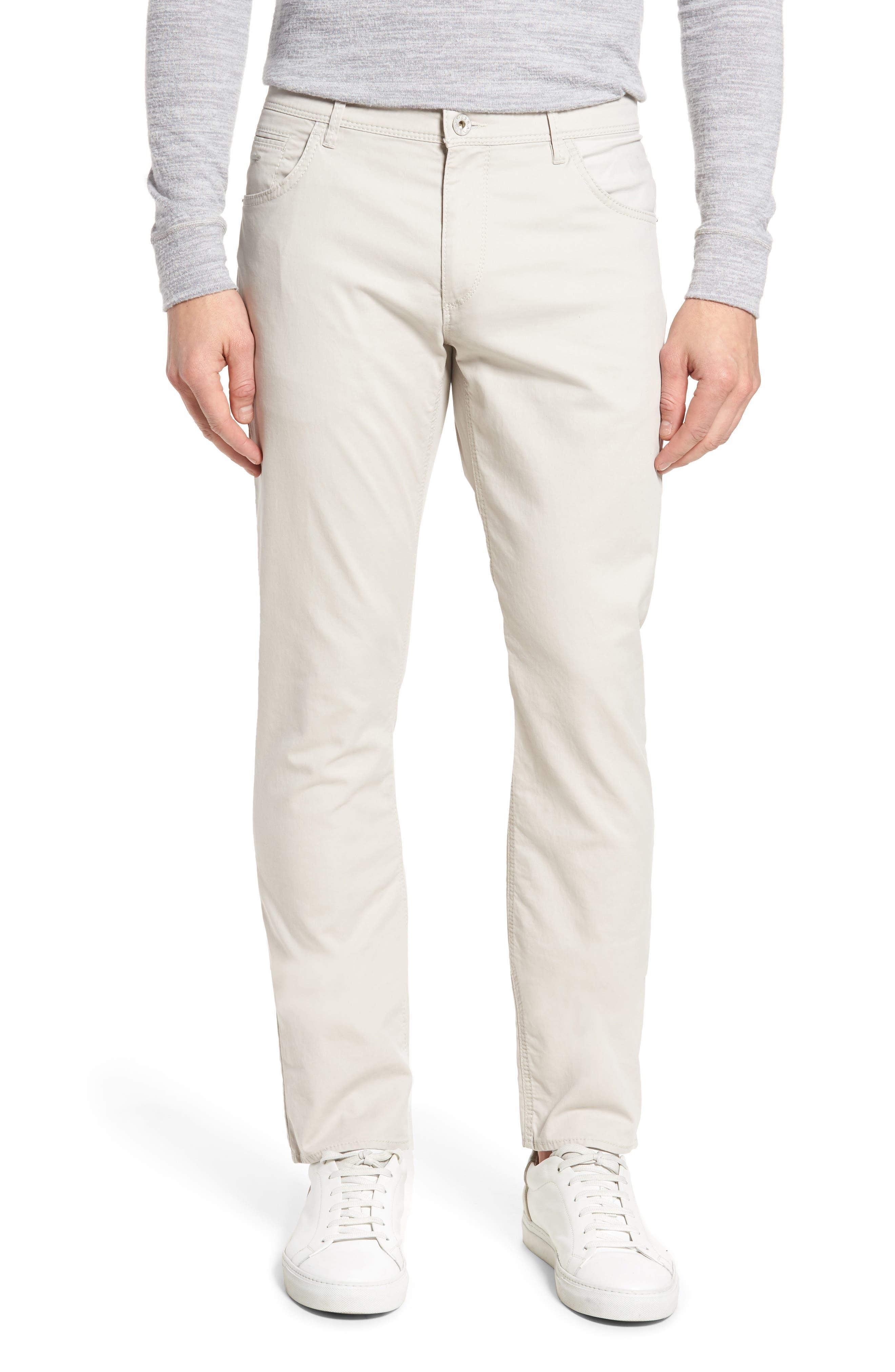 Chuck Flat Front Stretch Cotton Pants,                         Main,                         color, 250
