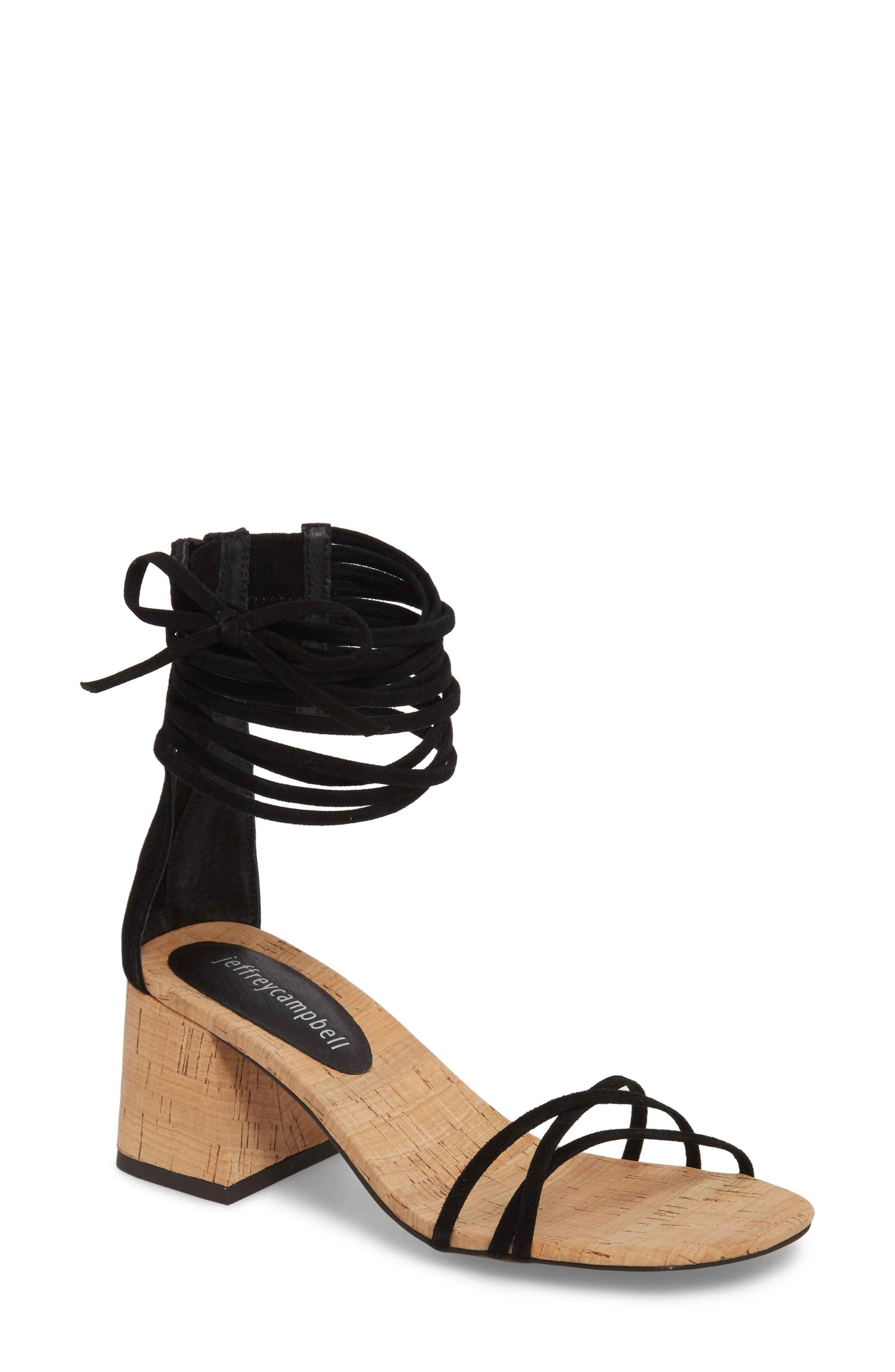 Everglade Ankle Strap Sandal,                             Main thumbnail 1, color,                             005