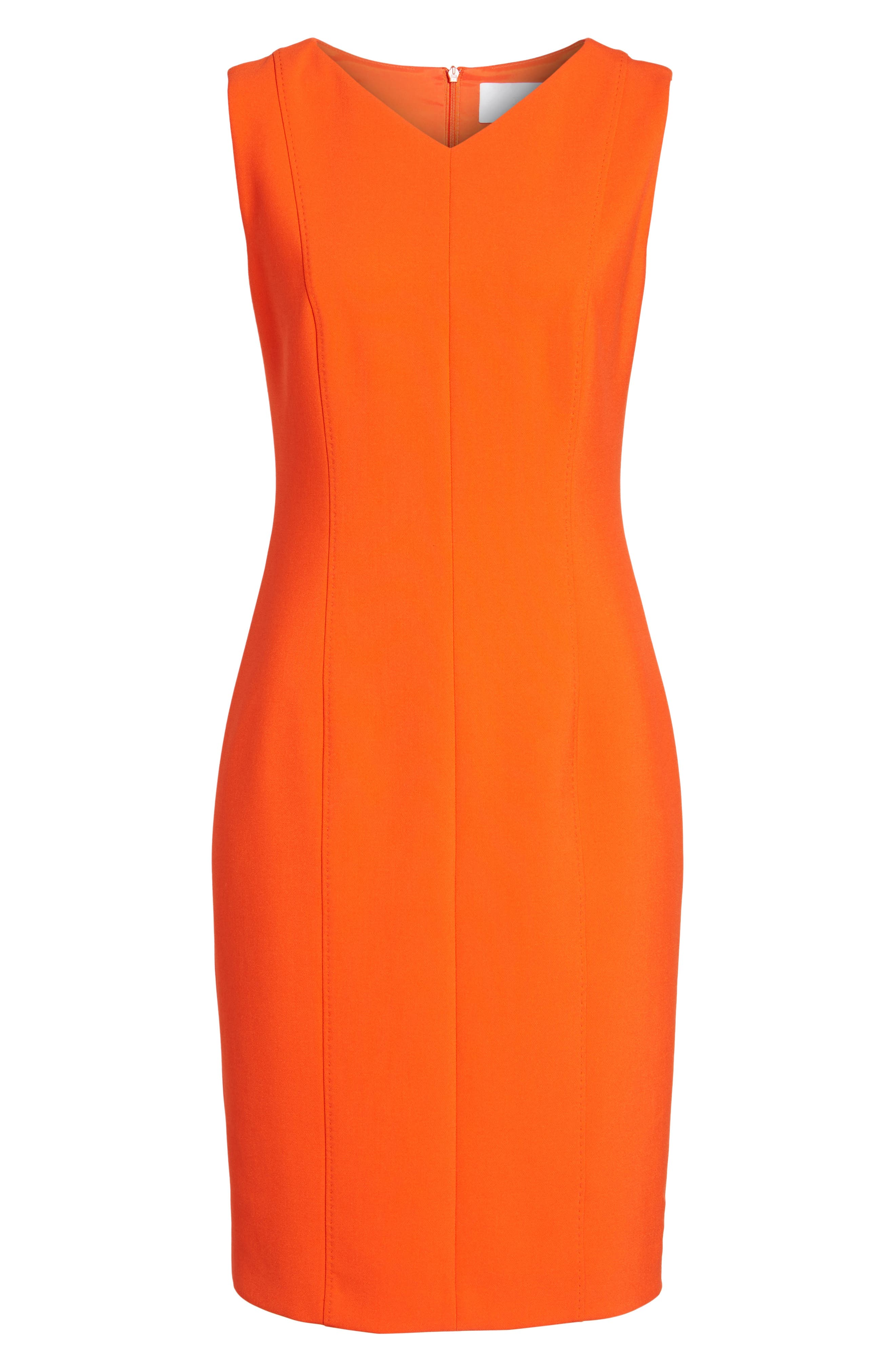 Delafea Sheath Dress,                             Alternate thumbnail 6, color,                             625