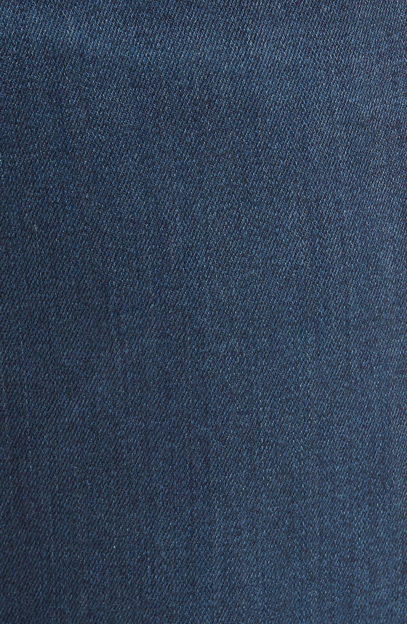 Transcend - Federal Slim Straight Fit Jeans,                             Alternate thumbnail 5, color,                             400
