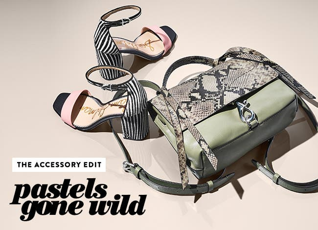 The accessory edit: pastels gone wild.