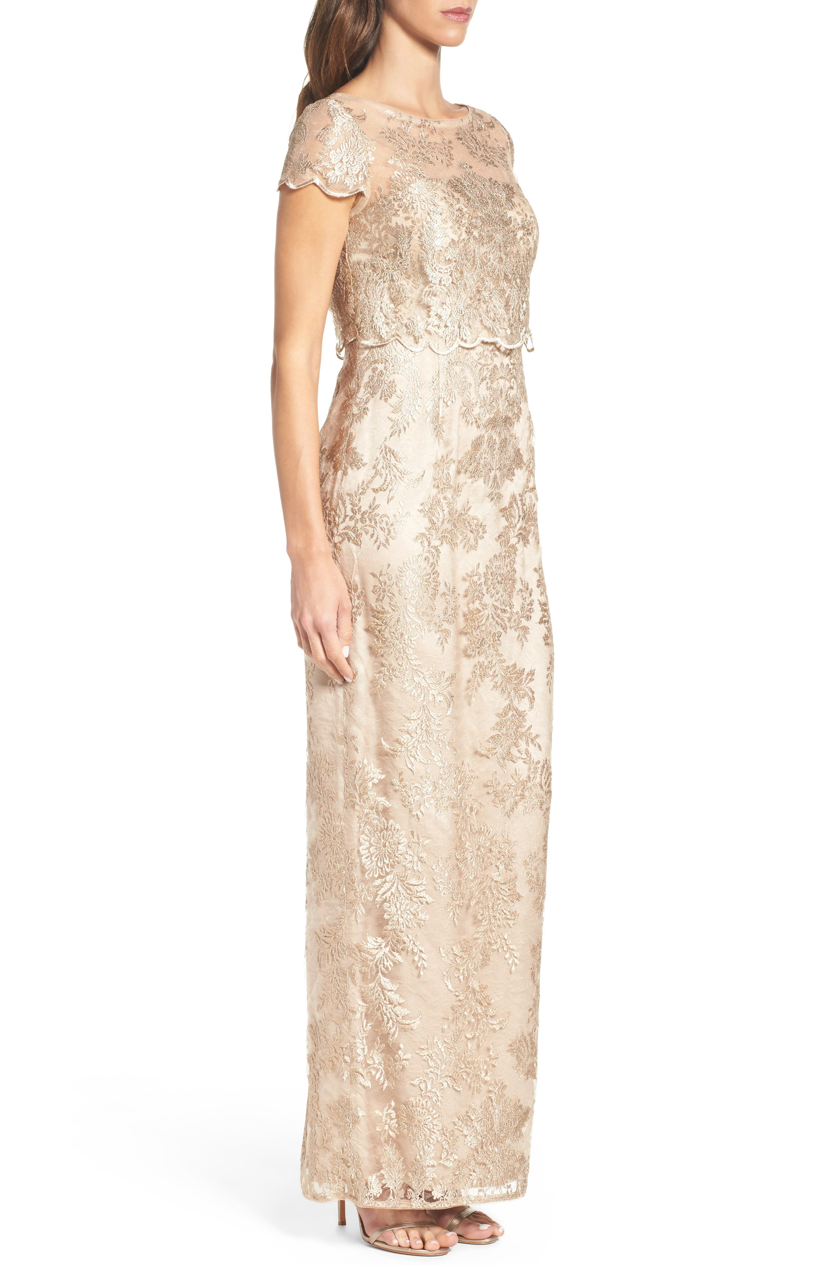 Popover Gown,                             Alternate thumbnail 3, color,