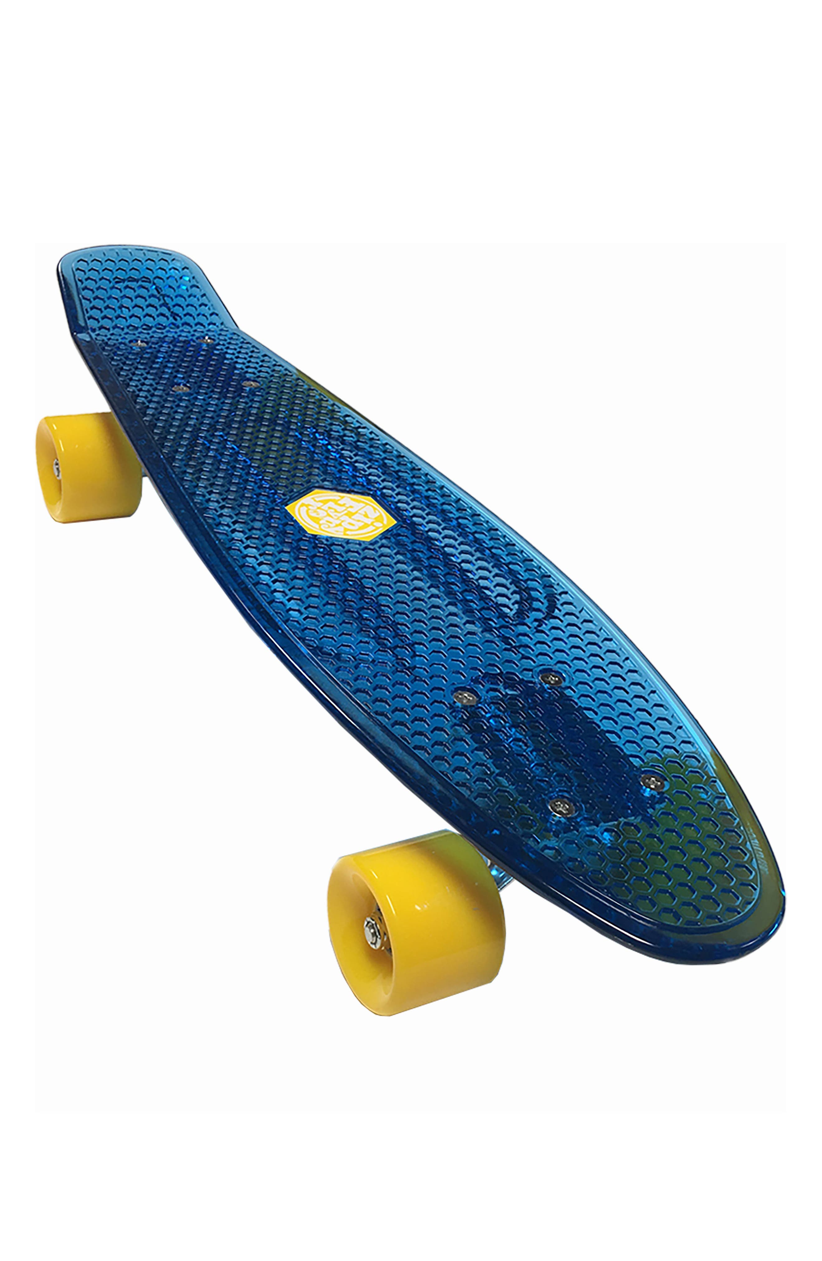 Translucent Skateboard,                             Main thumbnail 2, color,