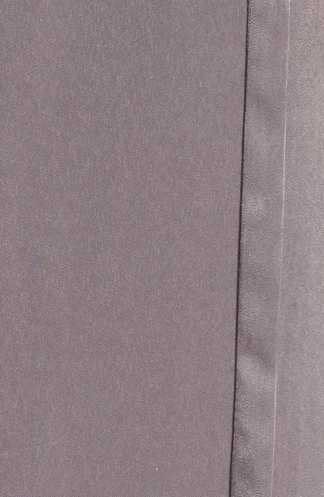 Satin Midi Slipdress,                             Alternate thumbnail 5, color,                             022